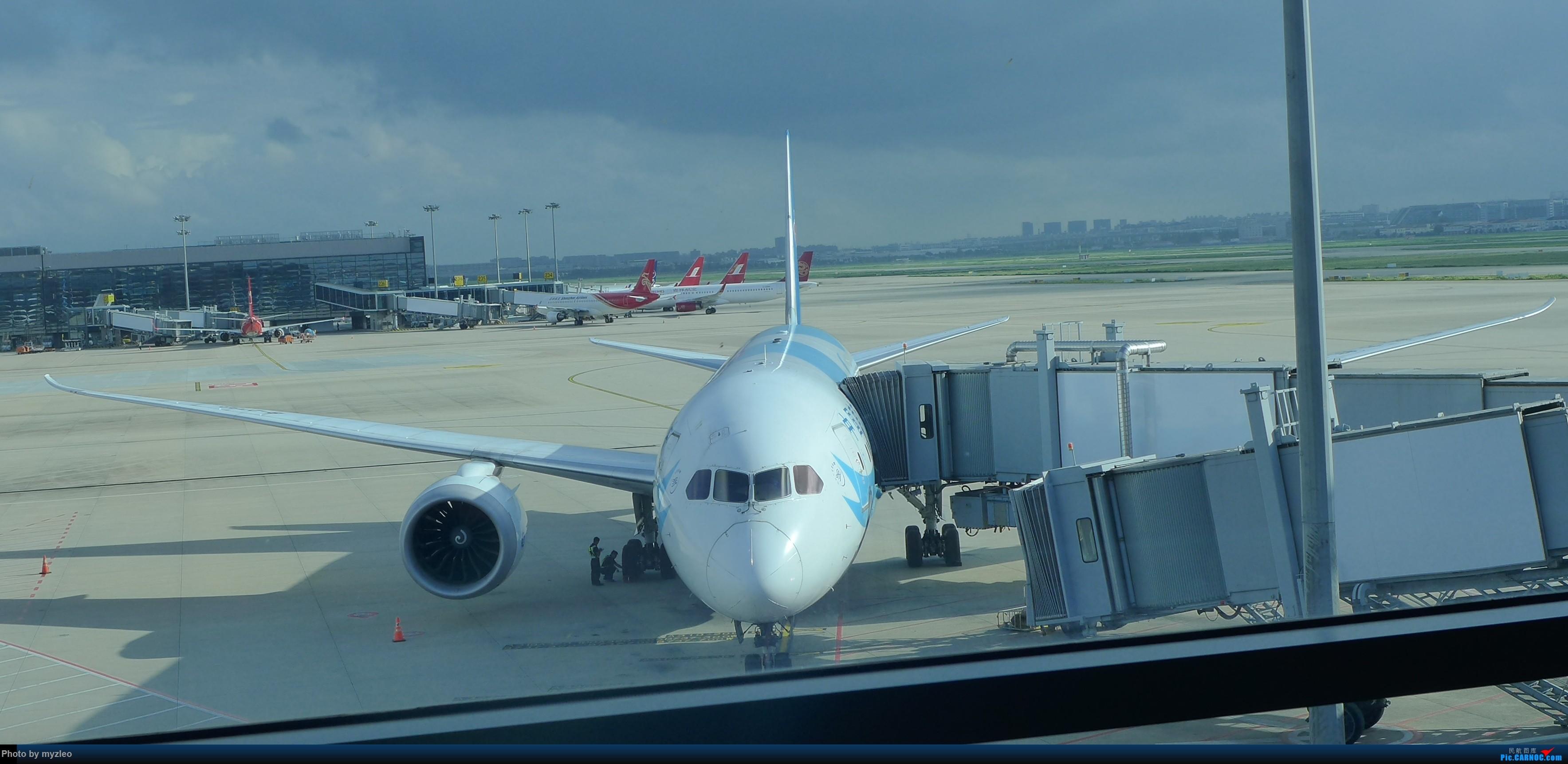 Re:[原创]【myzleo的游记3.1】三访帝都——记一次意外的惊喜,大鹅头初遇,第一次去中关村 BOEING 787-8 B-2733 中国上海虹桥国际机场