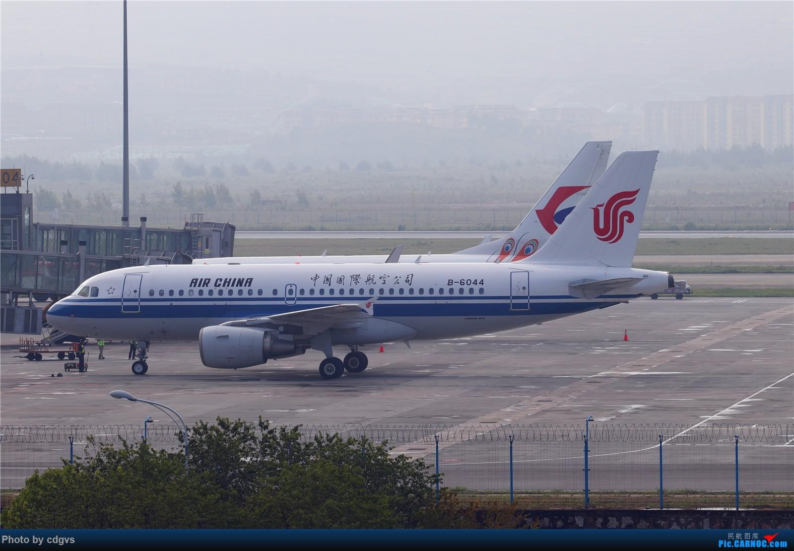 [原创]【KMG】长水机场一组 1600大图 AIRBUS A319-100 B-6044 中国昆明长水国际机场