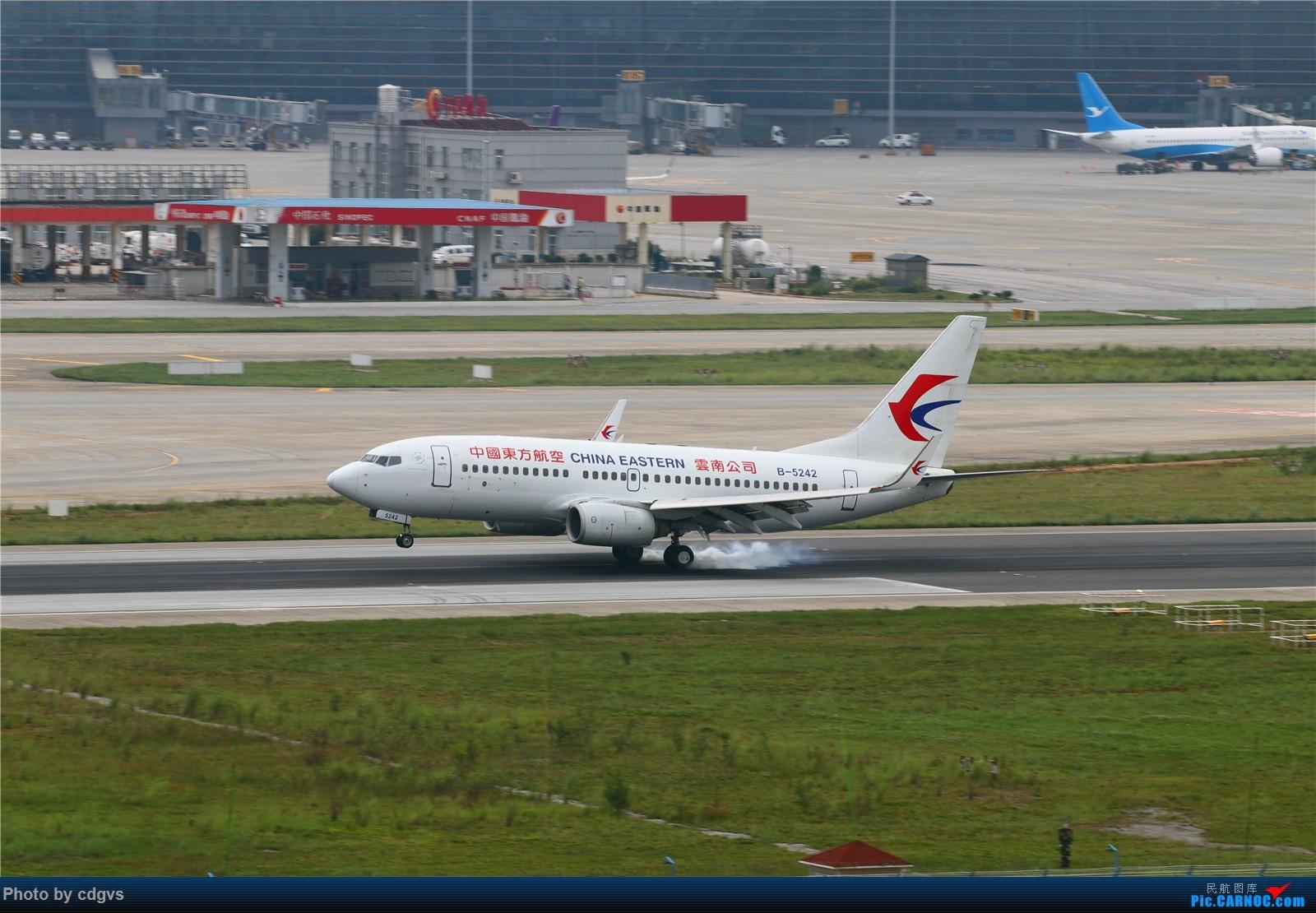 Re:[原创]【KMG】长水机场一组 1600大图 BOEING 737-700 B-5242 中国昆明长水国际机场