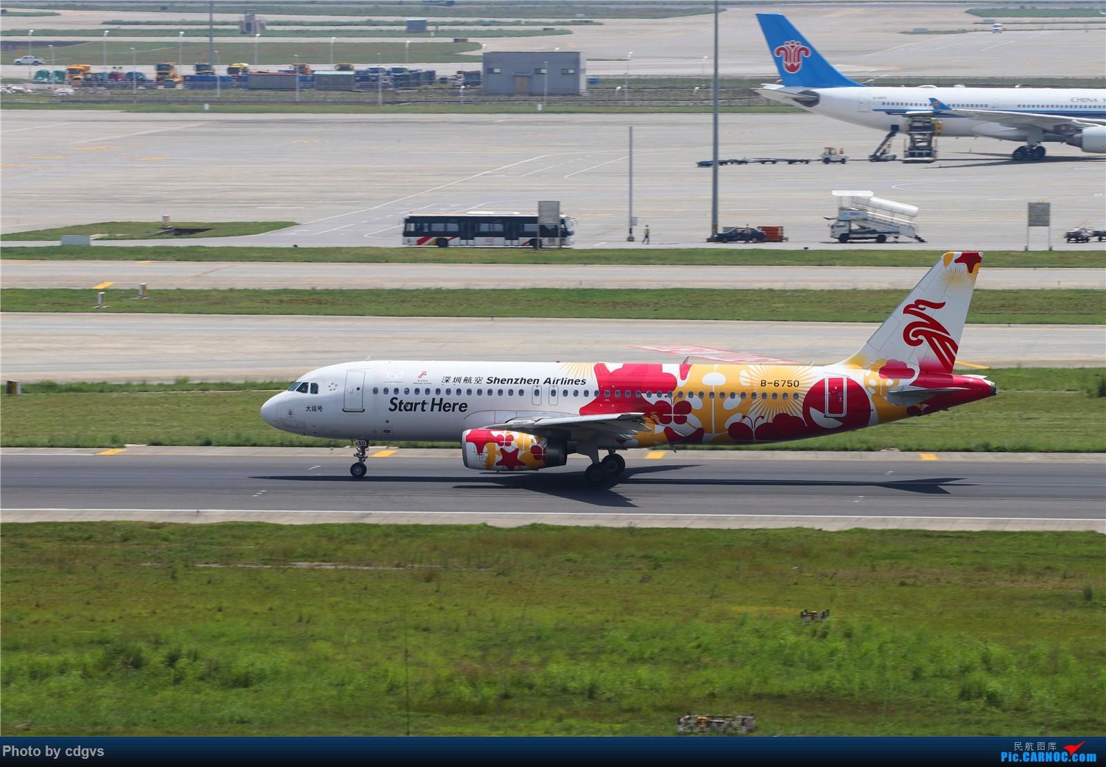 Re:[原创]【KMG】长水机场一组 1600大图 AIRBUS A320-200 B-6750 中国昆明长水国际机场