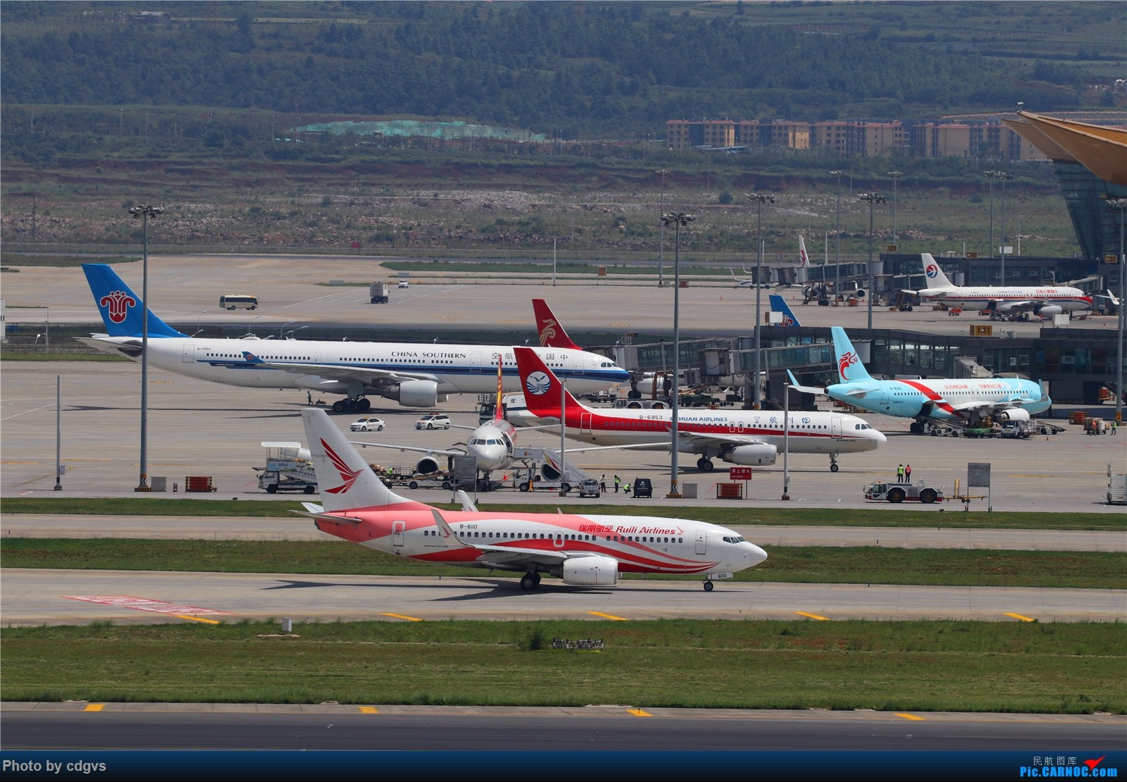 Re:[原创]【KMG】长水机场一组 1600大图    中国昆明长水国际机场
