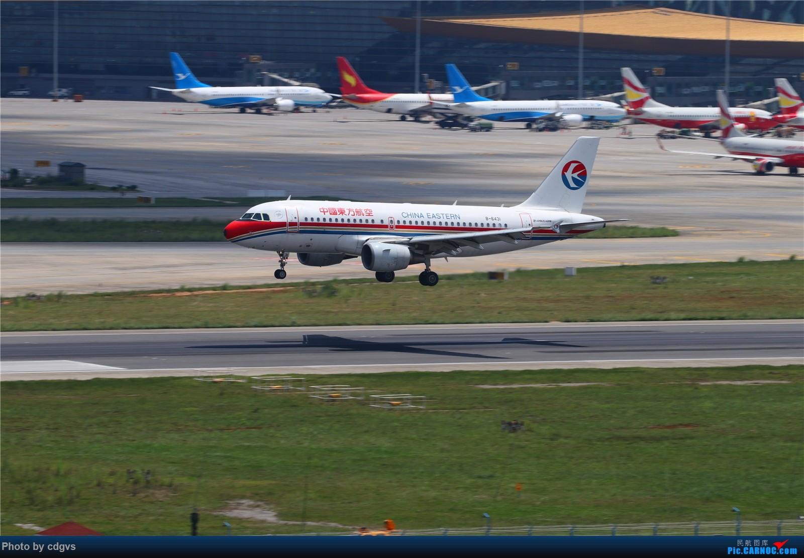 Re:[原创]【KMG】长水机场一组 1600大图 AIRBUS A319-100 B-6431 中国昆明长水国际机场
