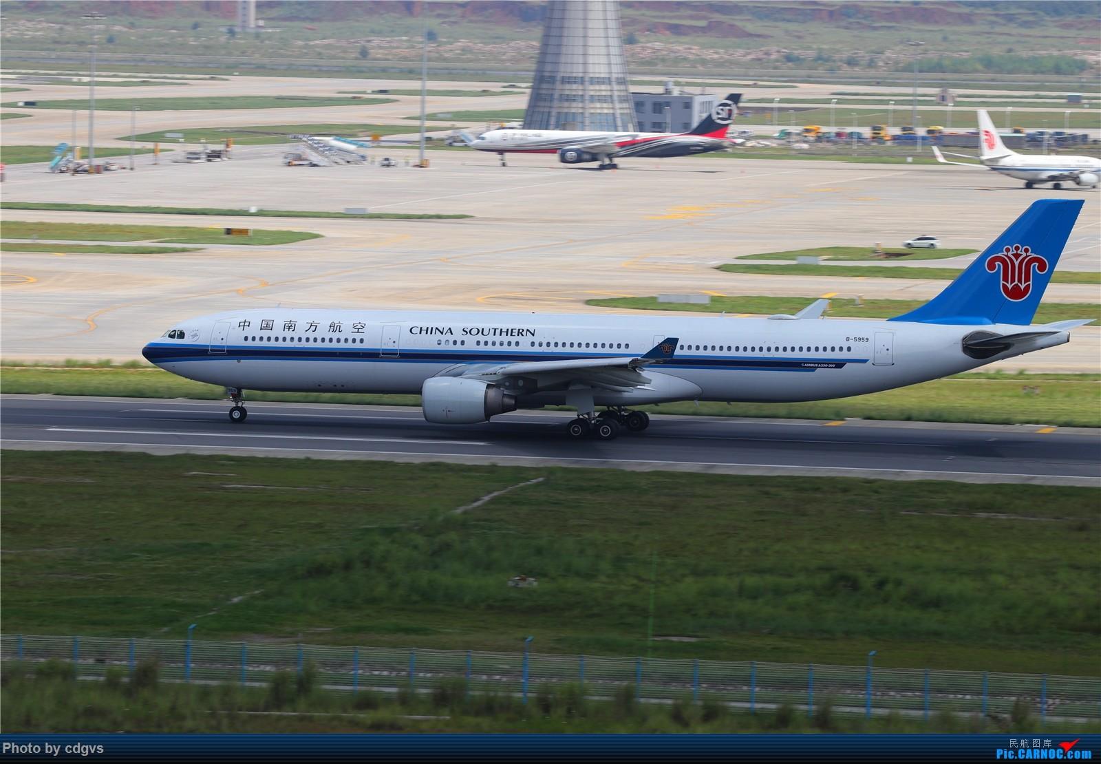 Re:[原创]【KMG】长水机场一组 1600大图 AIRBUS A330-300 B-5959 中国昆明长水国际机场