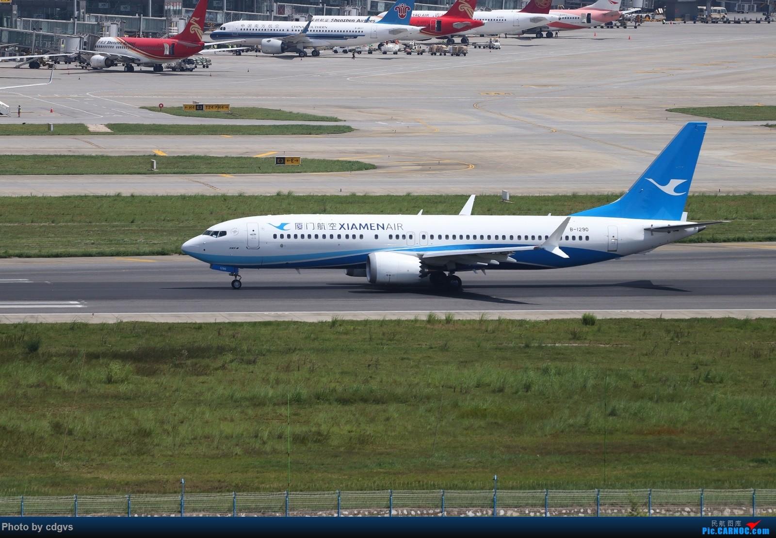 Re:[原创]【KMG】长水机场一组 1600大图 BOEING 737MAX-8 B-1290 中国昆明长水国际机场
