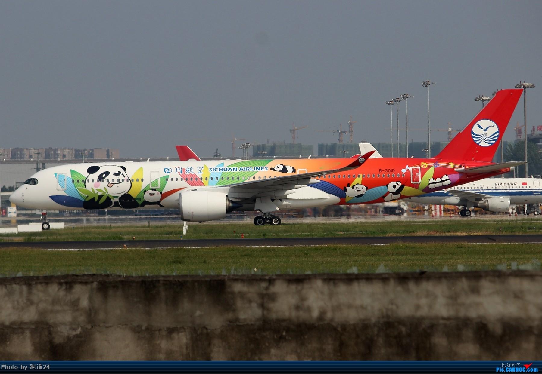 Re:[原创][多图党]8月31日CTU拍机 1800*1200 AIRBUS A350-900 B-301D 中国成都双流国际机场