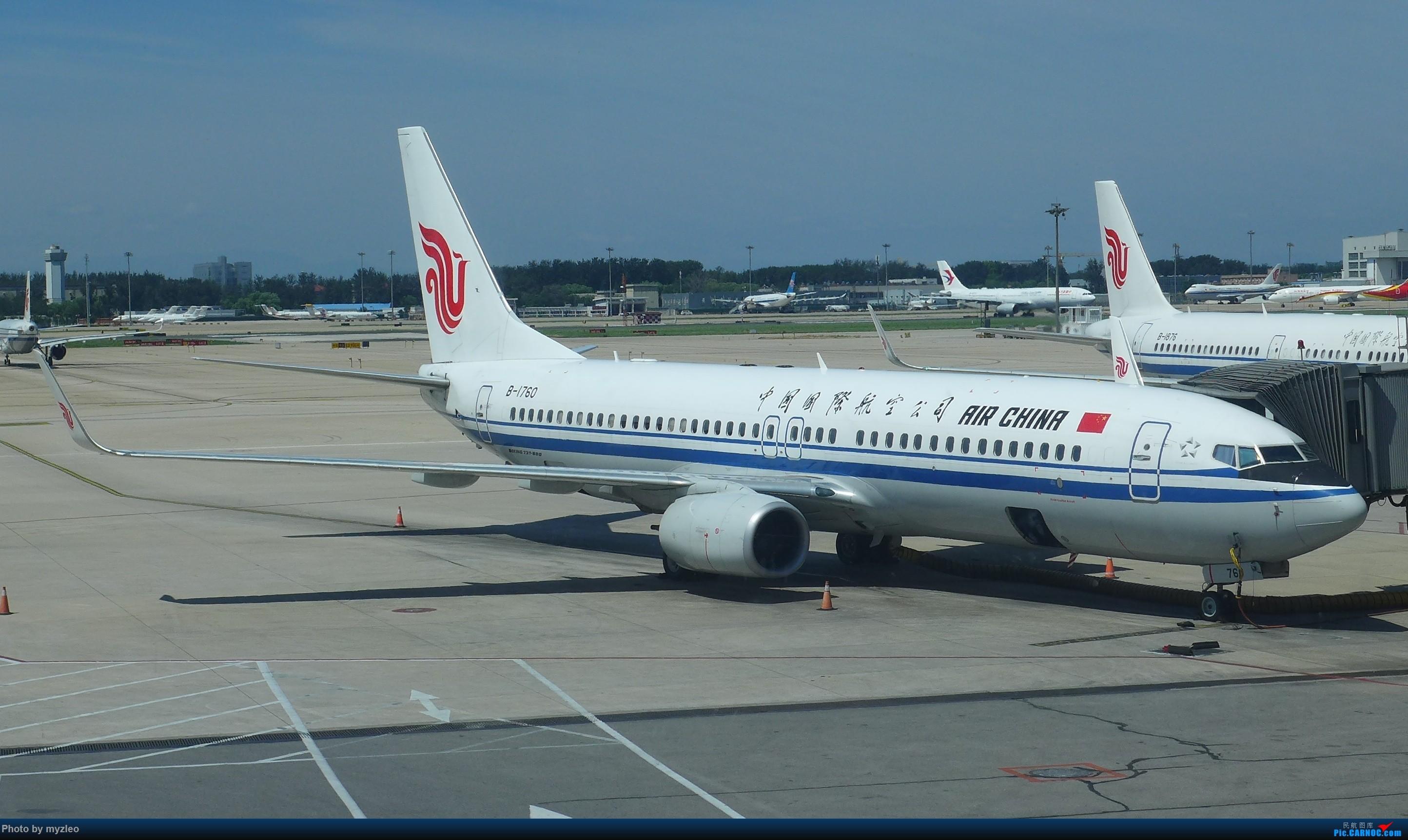 Re:[原创]【myzleo的游记3.1】三访帝都——记一次意外的惊喜,大鹅头初遇,第一次去中关村 BOEING 737-800 B-1760 中国北京首都国际机场