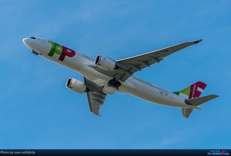 飞向天际的空客A330neo(香港)