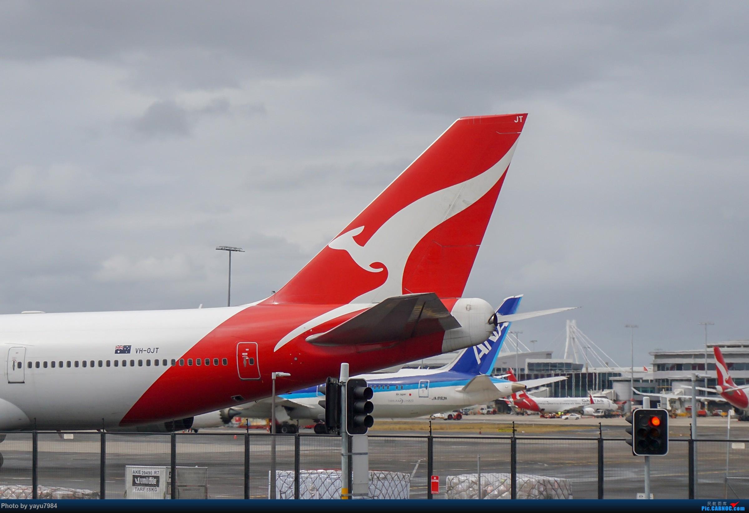 Re:[原创][SYD] 解锁几个没拍过的货:马航A359,RR引擎的袋鼠744... BOEING 747-400 VH-OJT 澳大利亚悉尼金斯福德・史密斯机场