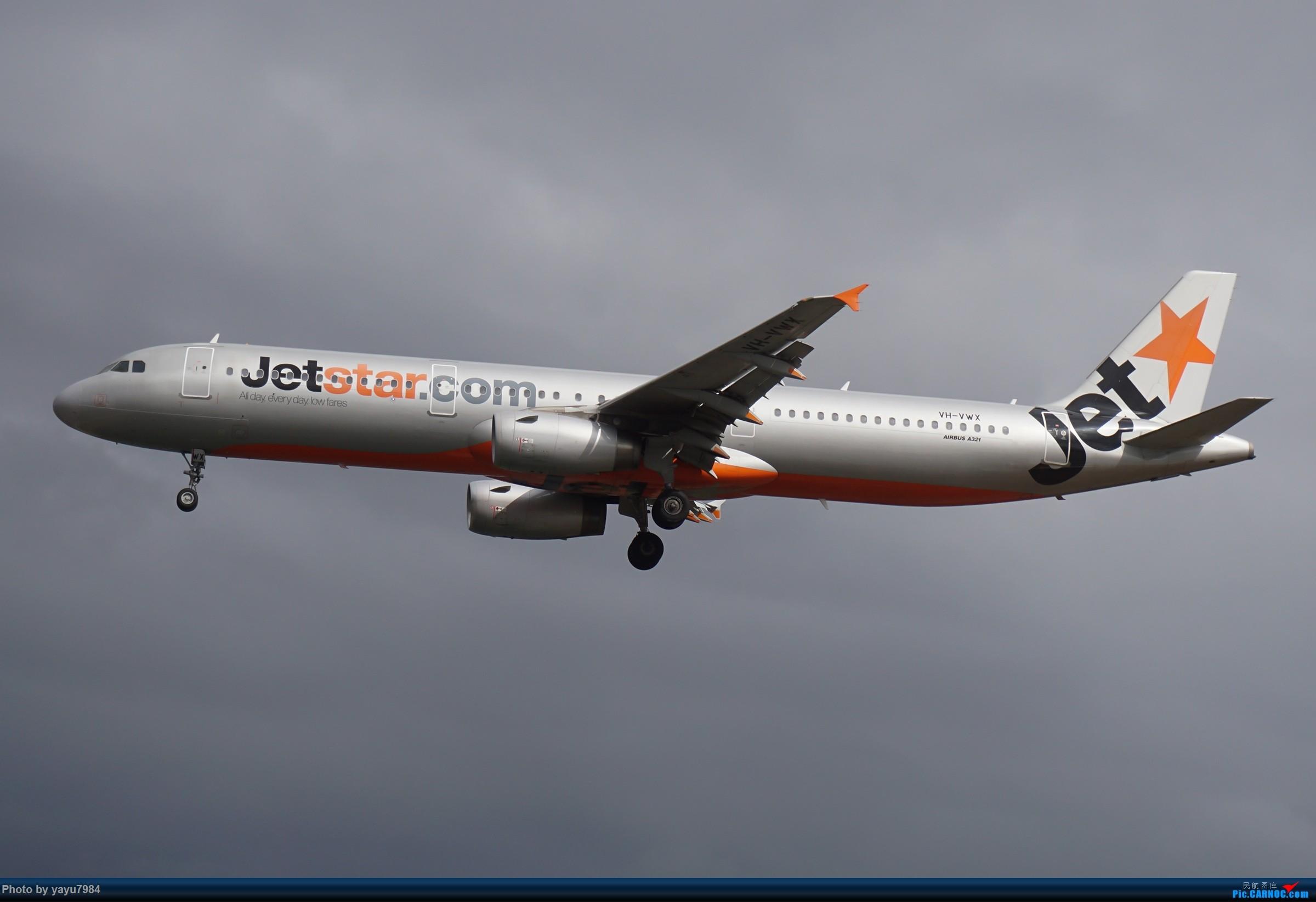 Re:[原创][SYD] 解锁几个没拍过的货:马航A359,RR引擎的袋鼠744... AIRBUS A321-200 VH-VWX 澳大利亚悉尼金斯福德・史密斯机场