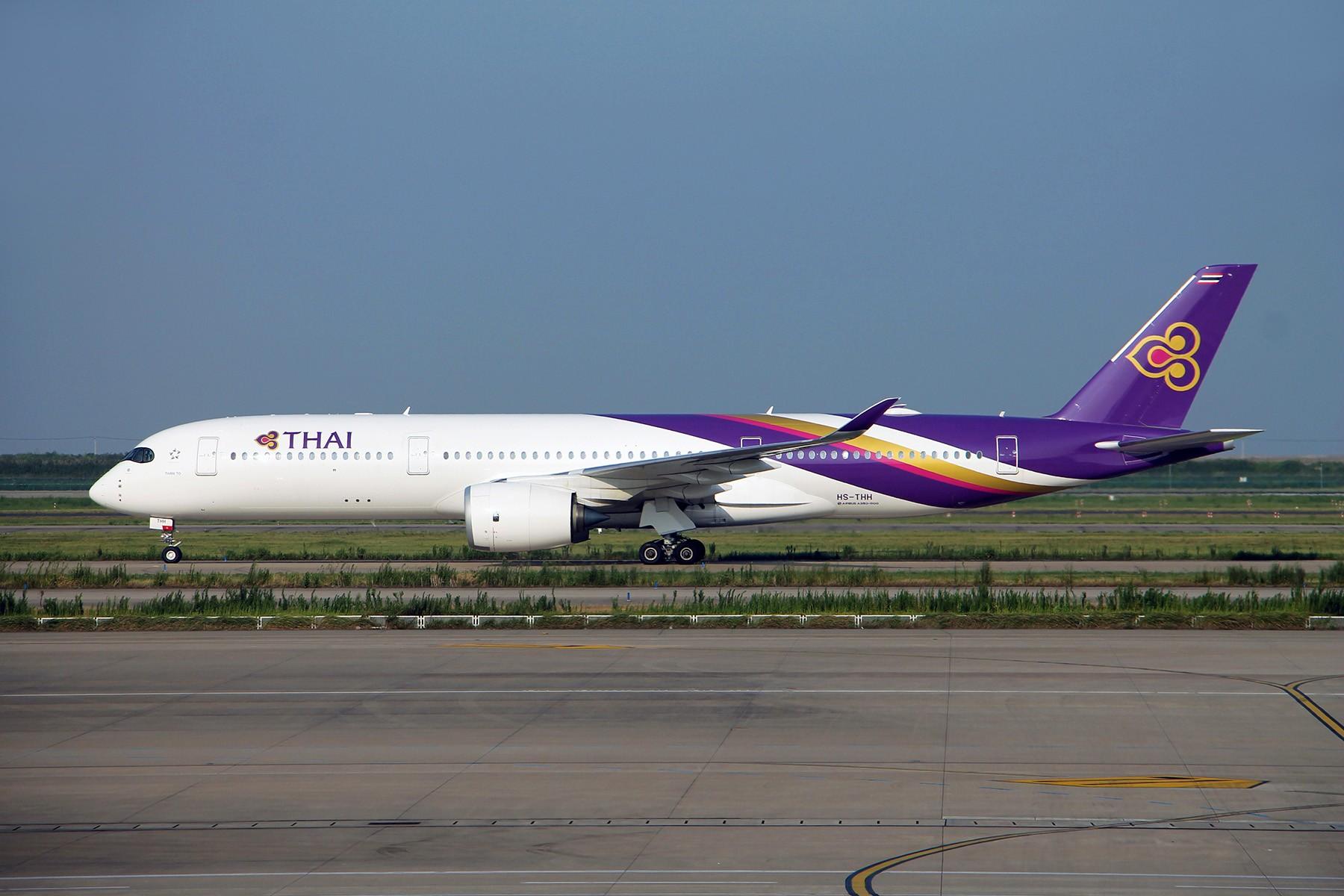 【PVG】【WUH】上海浦东--武汉天河 看遍浦东下午场和天河中午场 AIRBUS A350-900 HS-THH 上海浦东国际机场