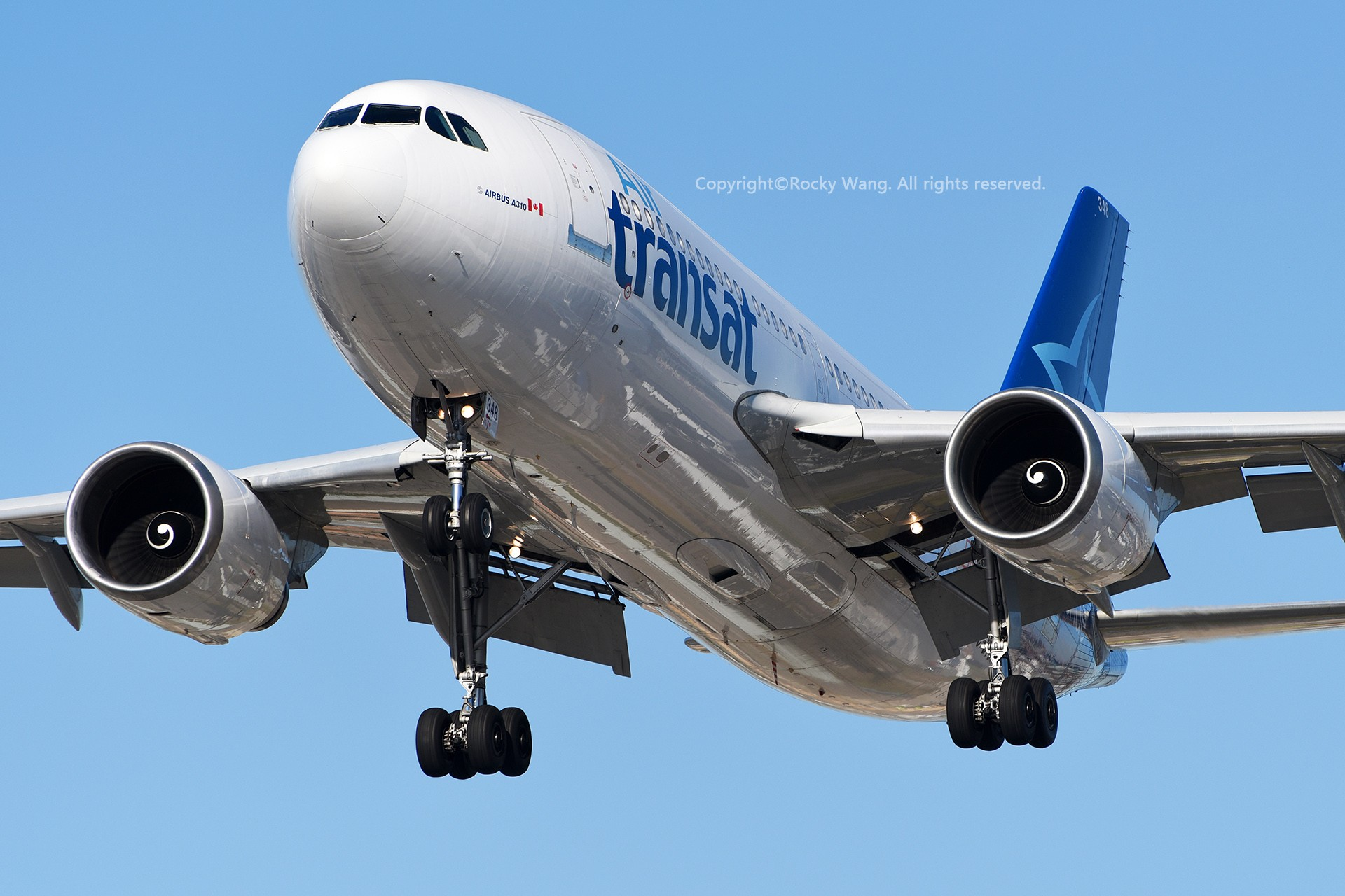 Re:[原创]CYYZ 30图 AIRBUS A310-304 C-GTSW Toronto Lester B. Pearson Int'l Airport