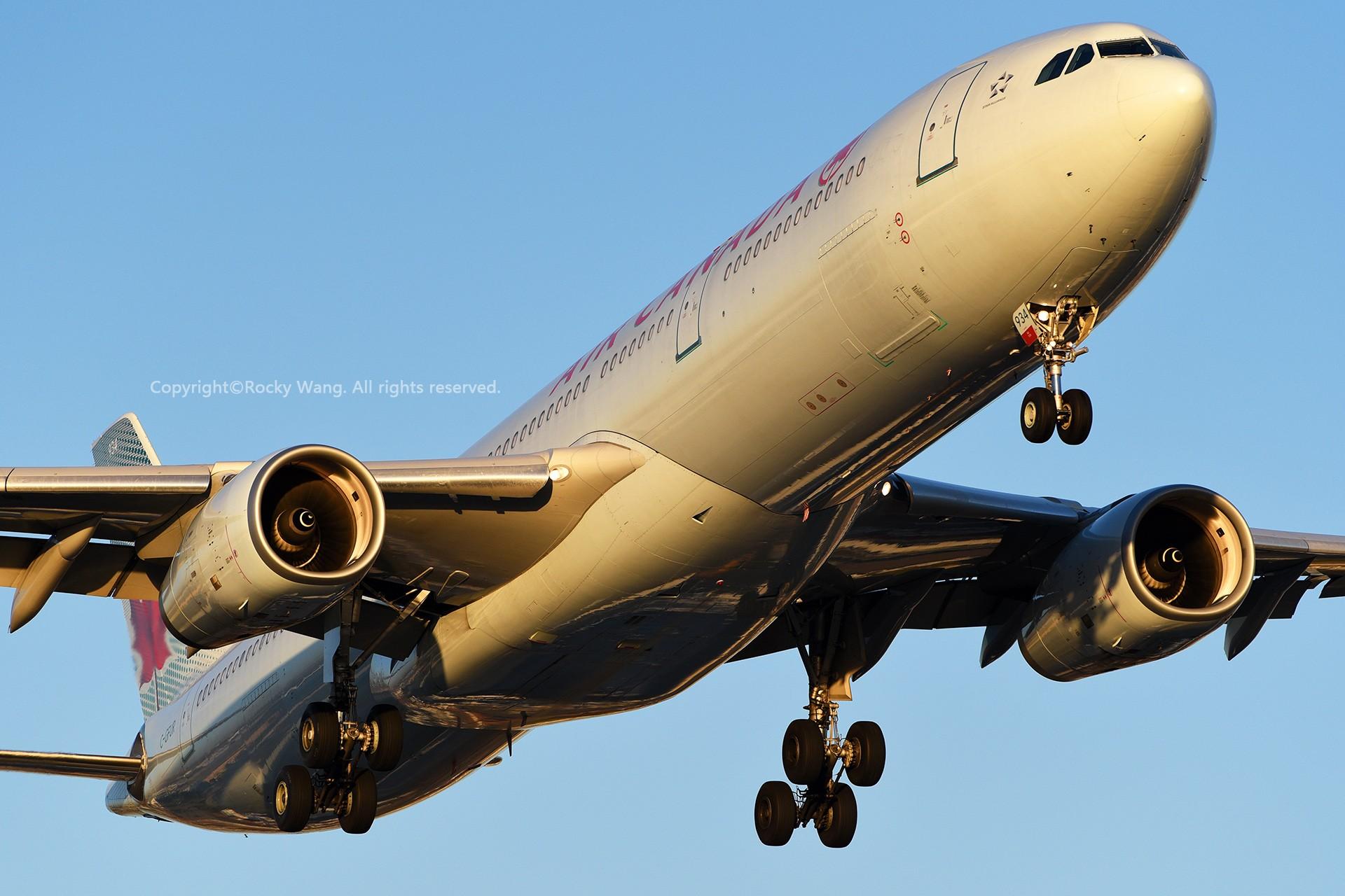 Re:[原创]CYYZ 30图 AIRBUS A330-343 C-GFUR Toronto Lester B. Pearson Int'l Airport