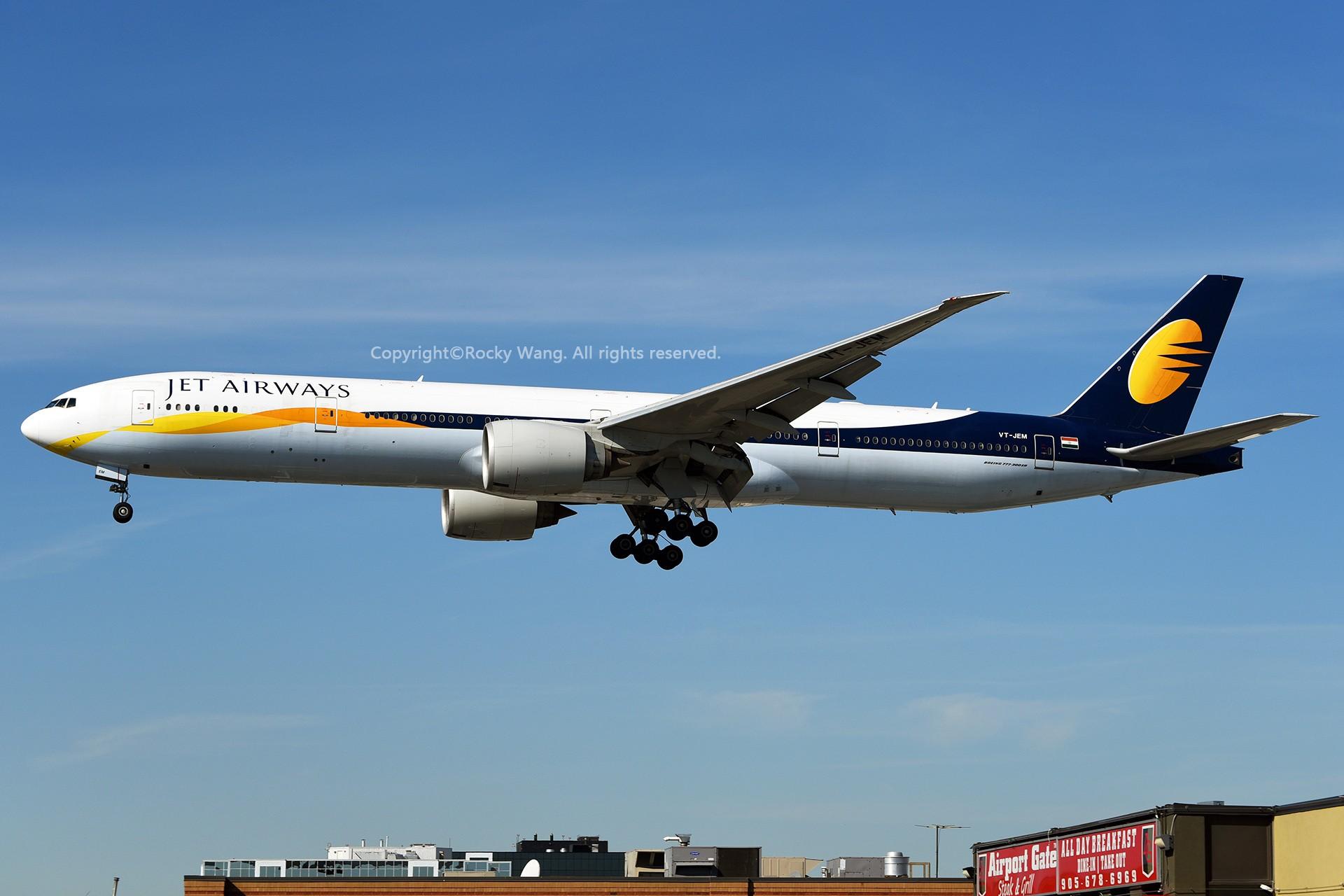 Re:[原创]CYYZ 30图 BOEING 777-35RER VT-JEM Toronto Lester B. Pearson Int'l Airport
