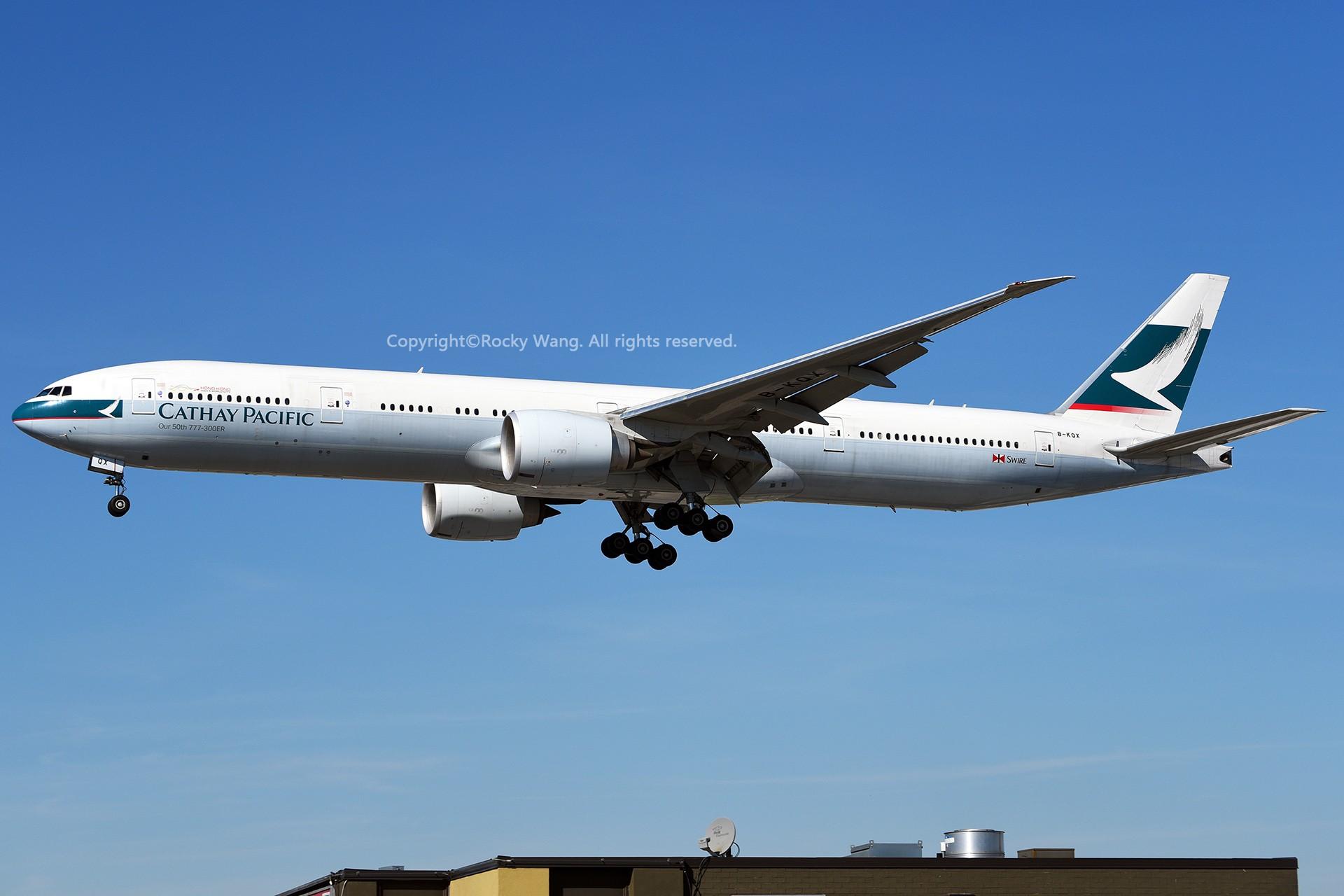 Re:[原创]CYYZ 30图 BOEING 777-367ER B-KQX Toronto Lester B. Pearson Int'l Airport