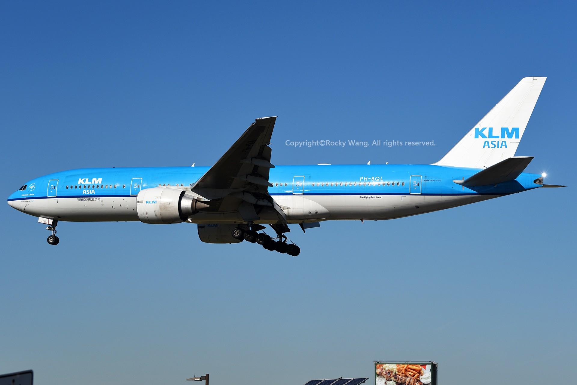 Re:[原创]CYYZ 30图 BOEING 777-206(ER) PH-BQL Toronto Lester B. Pearson Int'l Airport