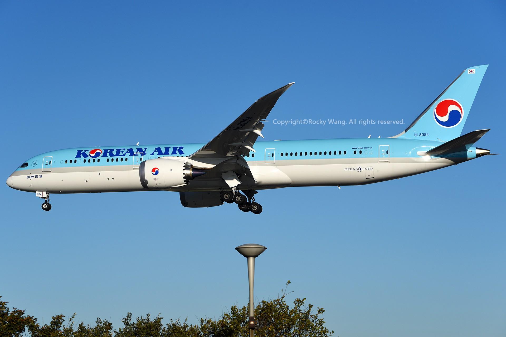 Re:[原创]CYYZ 30图 BOEING 787-9 DREAMLINER HL8084 Toronto Lester B. Pearson Int'l Airport