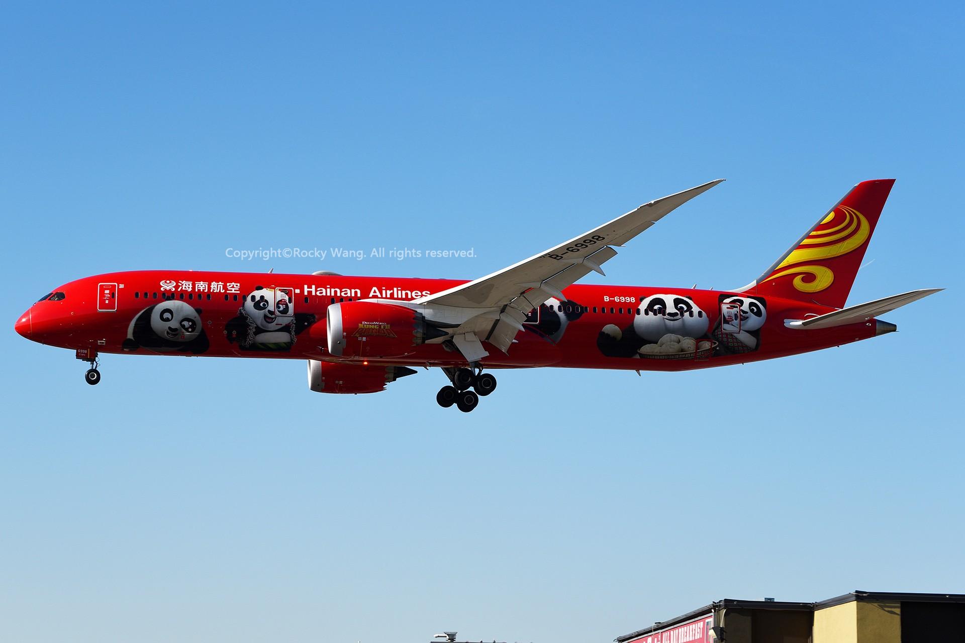 Re:[原创]CYYZ 30图 BOEING 787-9 DREAMLINER B-6998 Toronto Lester B. Pearson Int'l Airport