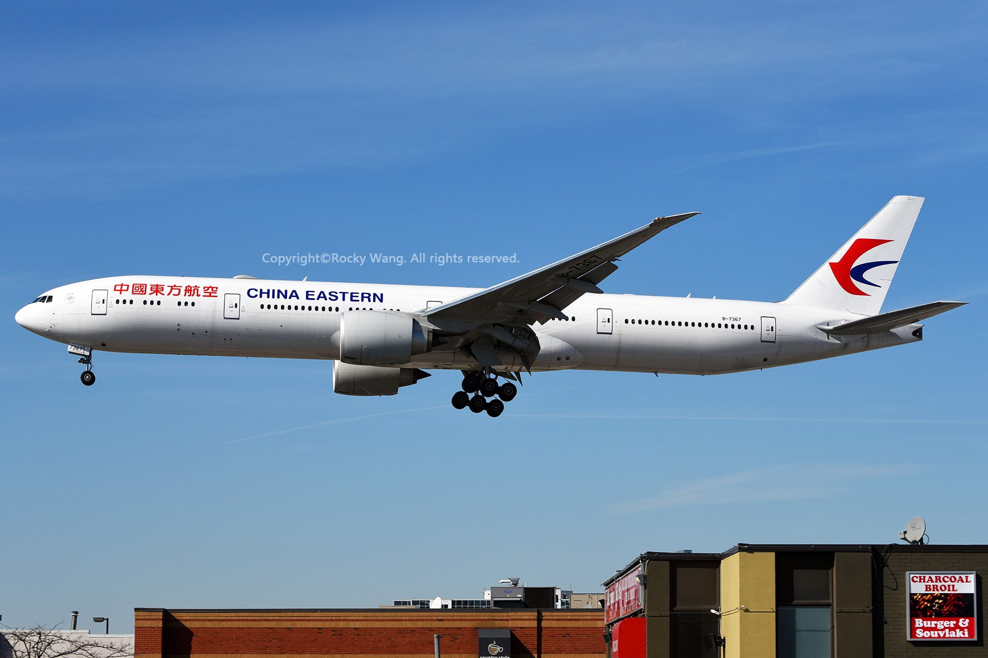 Re:[原创]CYYZ 30图 BOEING 777-39PER B-7367 Toronto Lester B. Pearson Int'l Airport