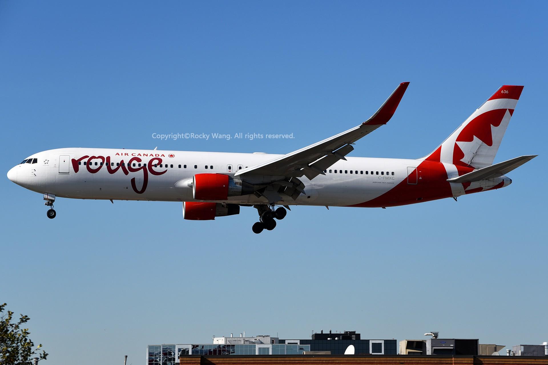 Re:[原创]CYYZ 30图 BOEING 767-333(ER) C-FMXC Toronto Lester B. Pearson Int'l Airport