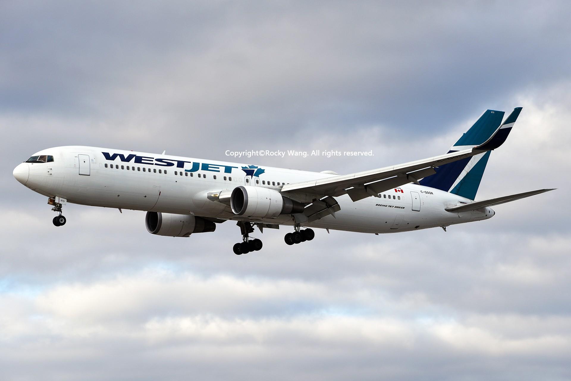 Re:[原创]CYYZ 30图 BOEING 767-338(ER) C-GOGN Toronto Lester B. Pearson Int'l Airport