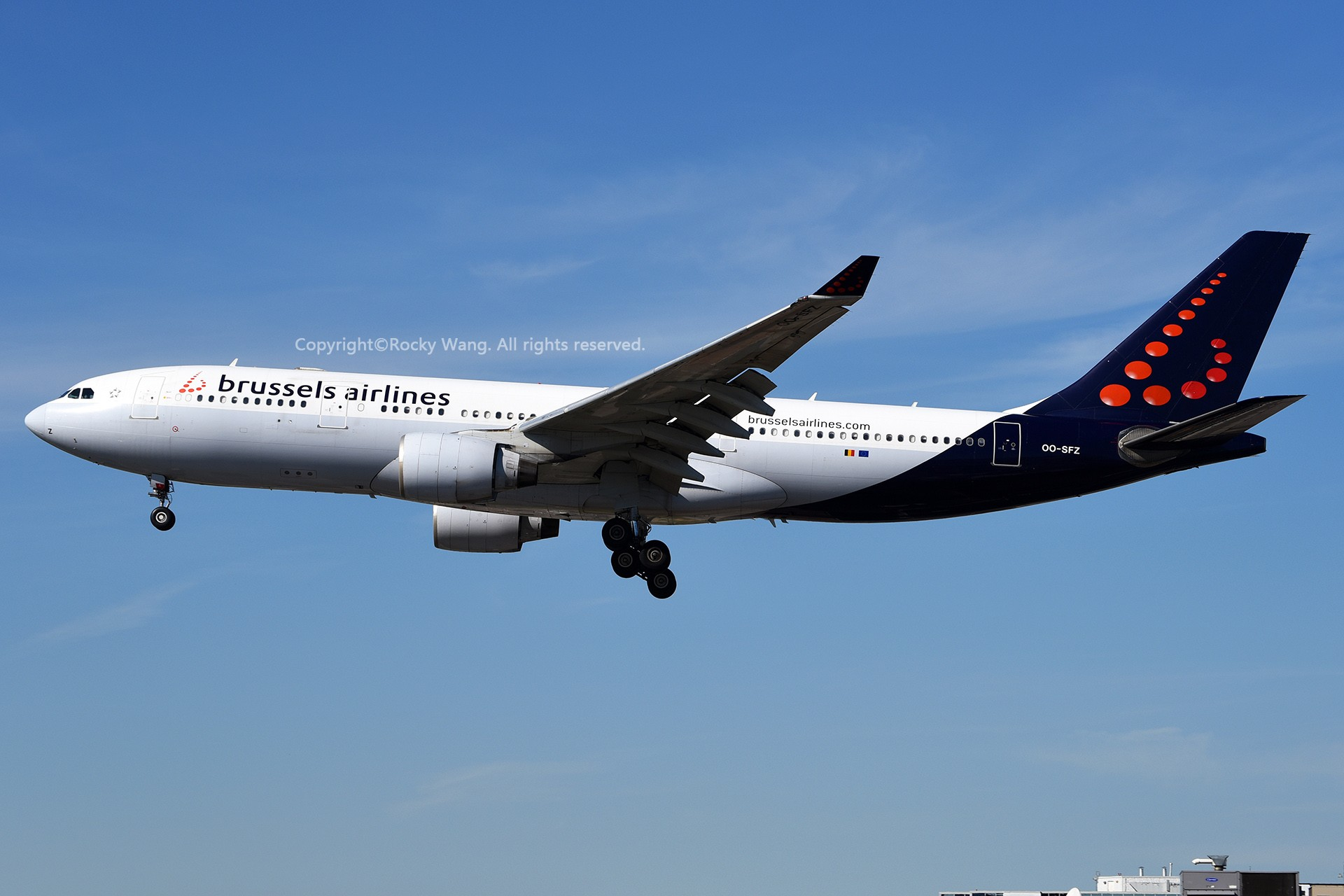 Re:[原创]CYYZ 30图 AIRBUS A330-223 OO-SFZ Toronto Lester B. Pearson Int'l Airport