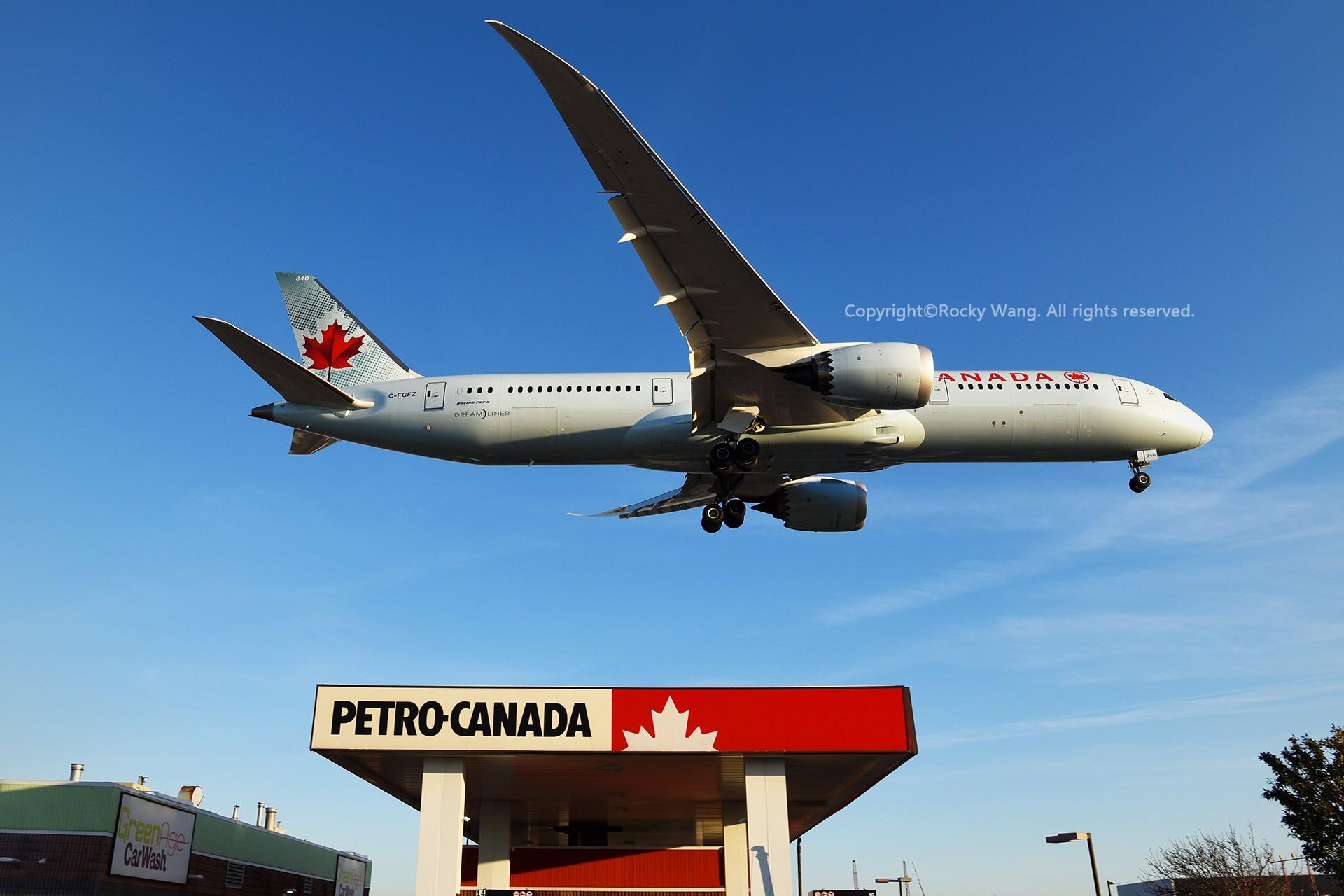 Re:[原创]CYYZ 30图 BOEING 787-9 DREAMLINER C-FGFZ Toronto Lester B. Pearson Int'l Airport