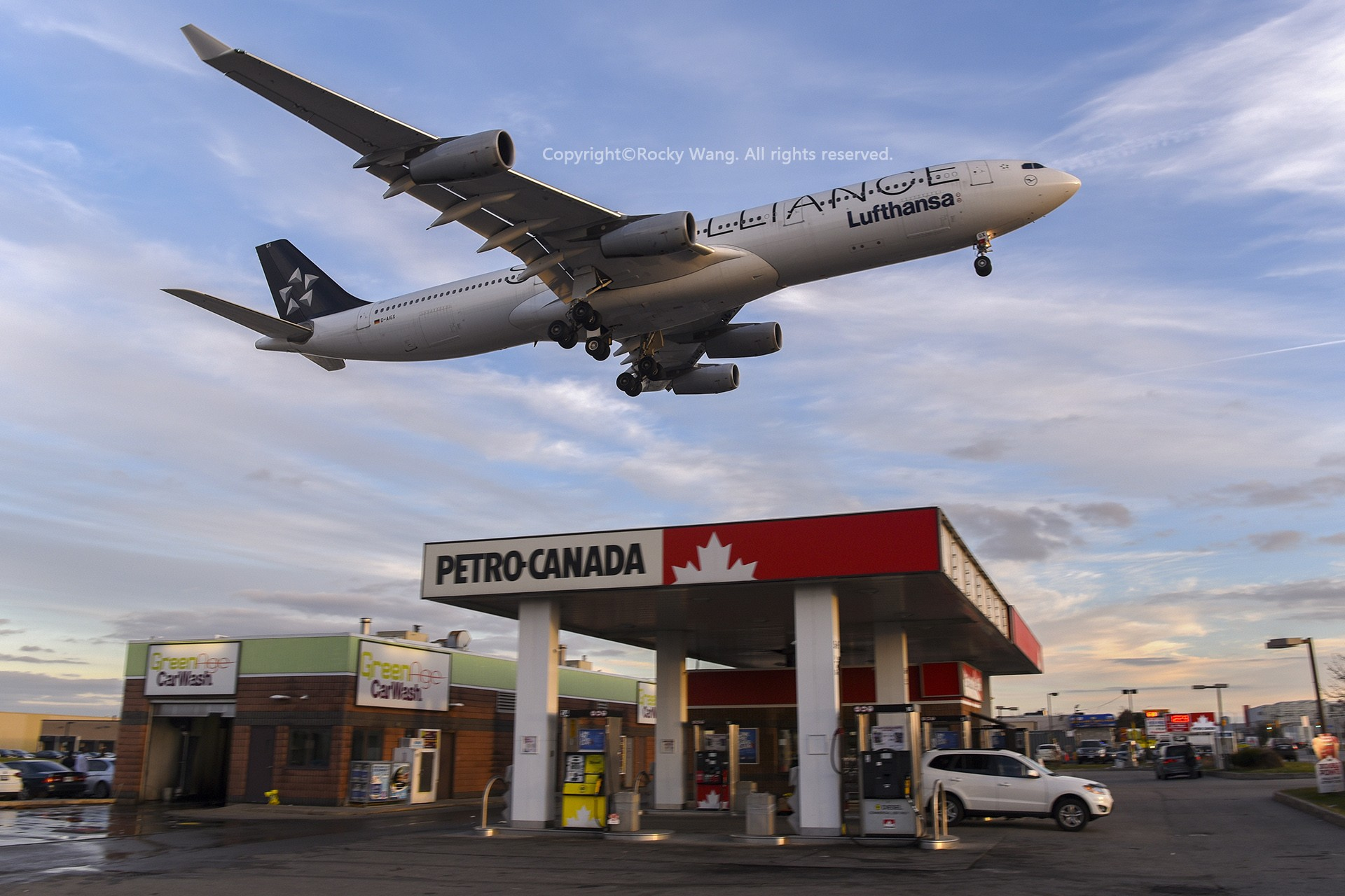 Re:[原创]CYYZ 30图 AIRBUS A340-313X D-AIGX Toronto Lester B. Pearson Int'l Airport