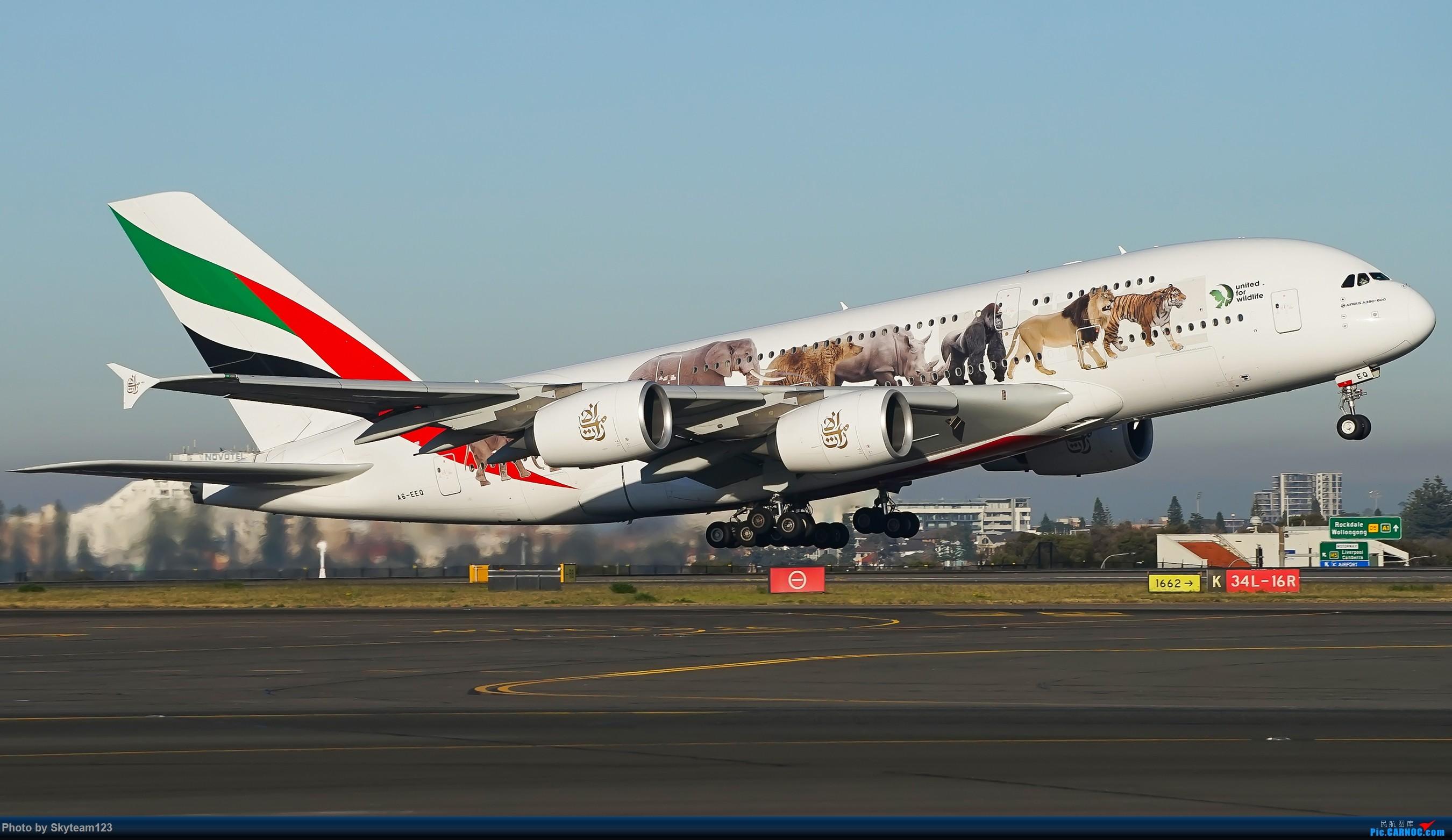Re:[原创][SYD] 再访Blu EMU停车场 早上34L抵港出发杂图几张 AIRBUS A380-800 A6-EEQ 澳大利亚悉尼金斯福德·史密斯机场