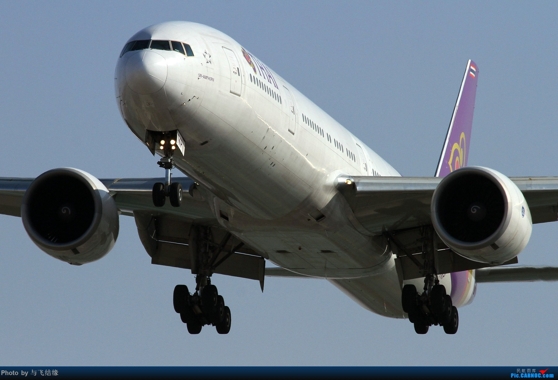 Re:[原创]PEK的近进几图! BOEING 777-300ER HS-TKD 中国北京首都国际机场