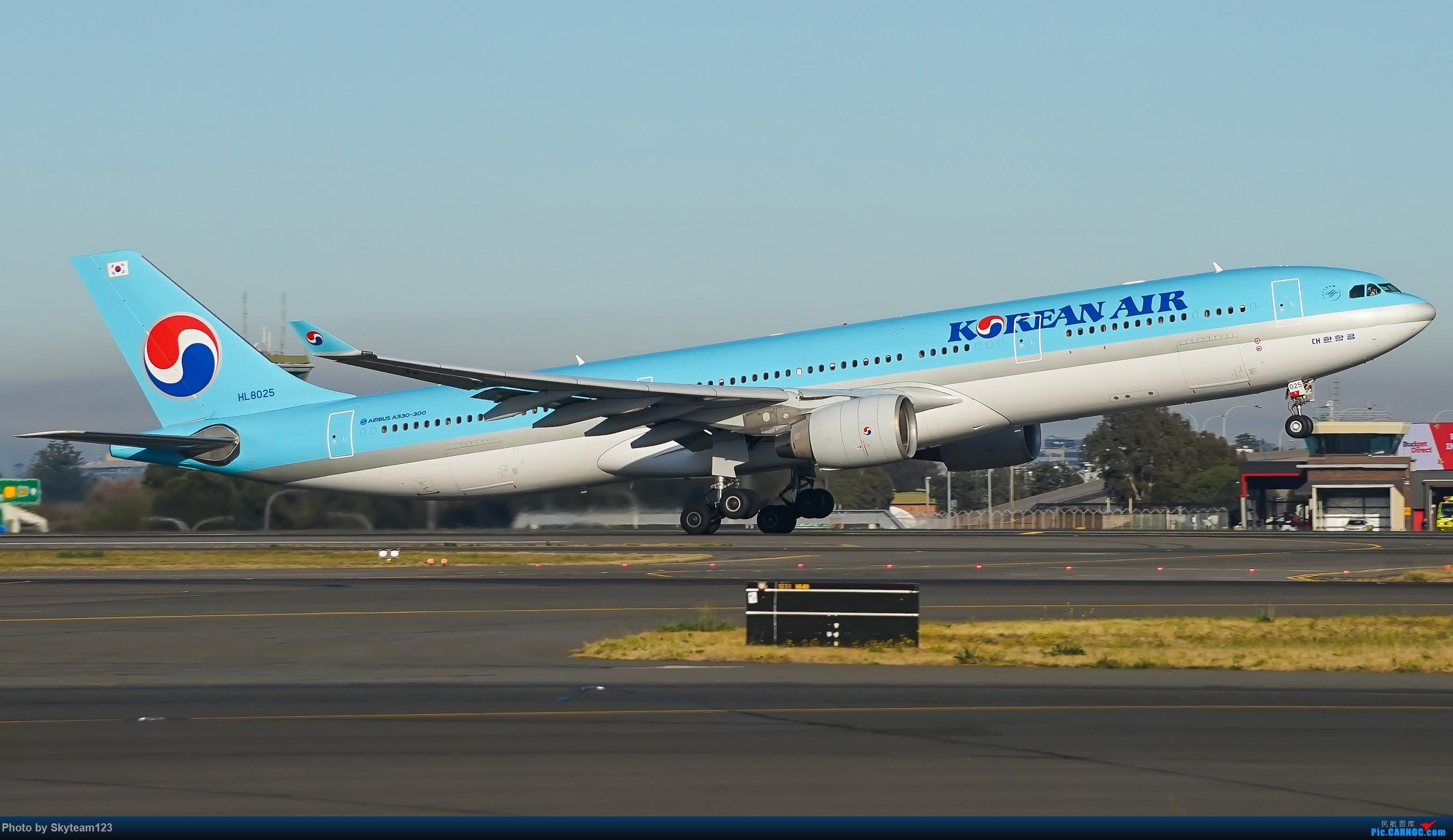 Re:[原创][SYD] 再访Blu EMU停车场 早上34L抵港出发杂图几张 AIRBUS A330-300 HL8025 澳大利亚悉尼金斯福德·史密斯机场