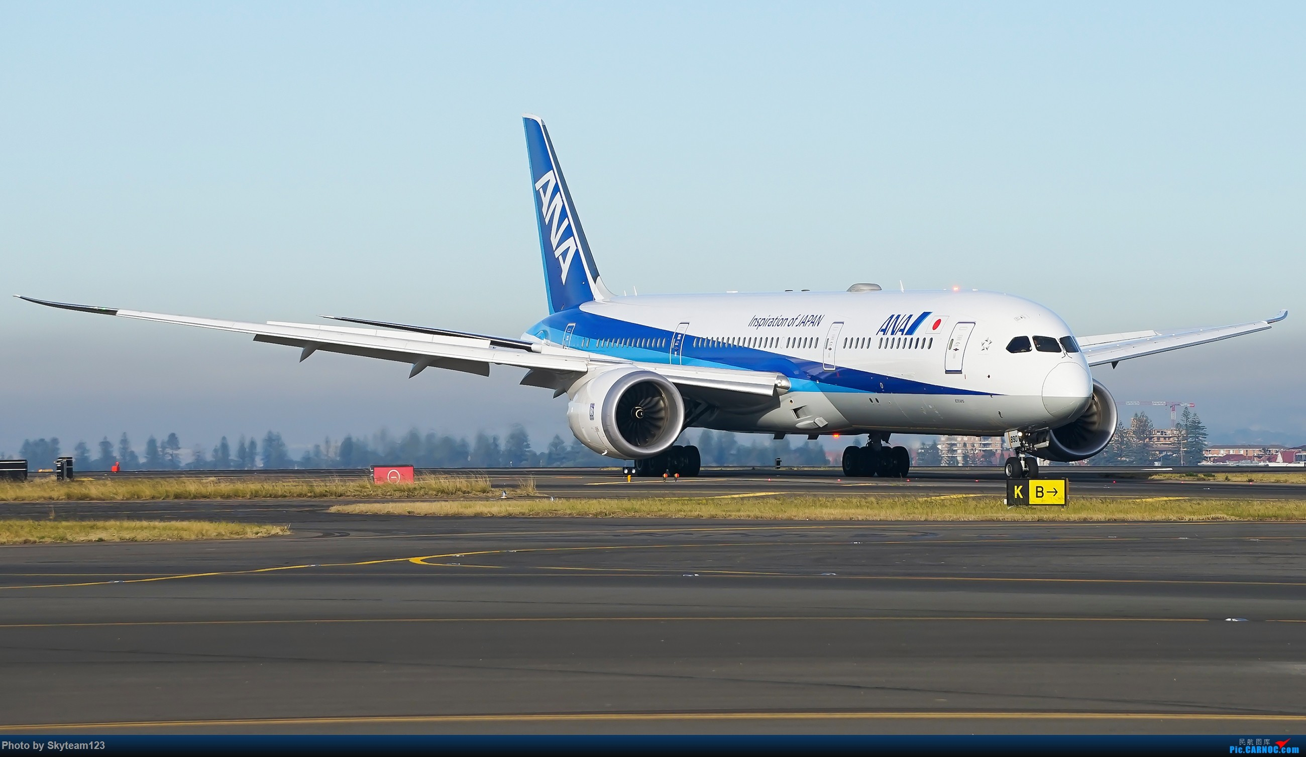 Re:[原创][SYD] 再访Blu EMU停车场 早上34L抵港出发杂图几张 BOEING 787-9 JA890A 澳大利亚悉尼金斯福德·史密斯机场