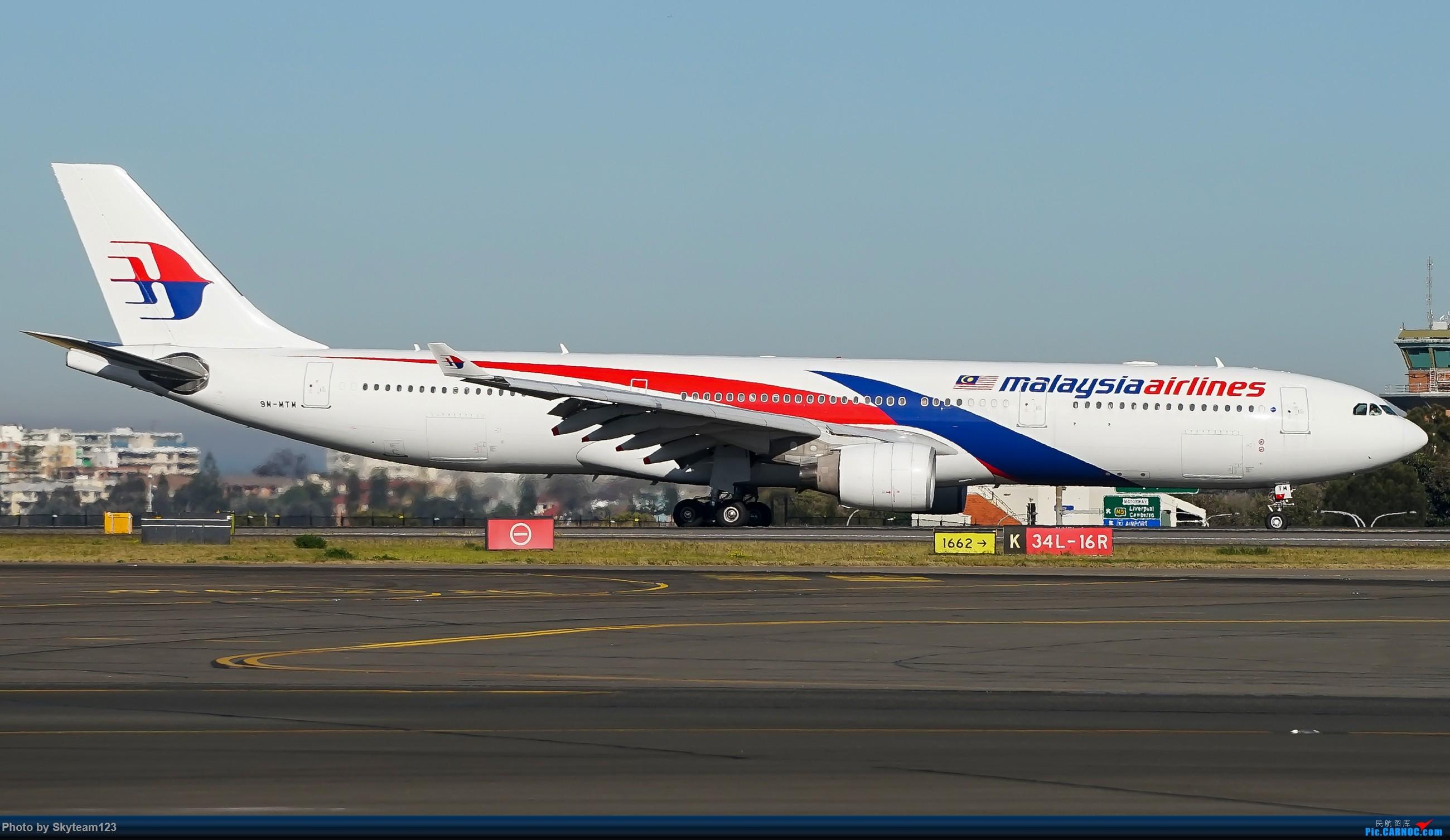 Re:[原创][SYD] 再访Blu EMU停车场 早上34L抵港出发杂图几张 AIRBUS A330-300 9M-MTM 澳大利亚悉尼金斯福德·史密斯机场