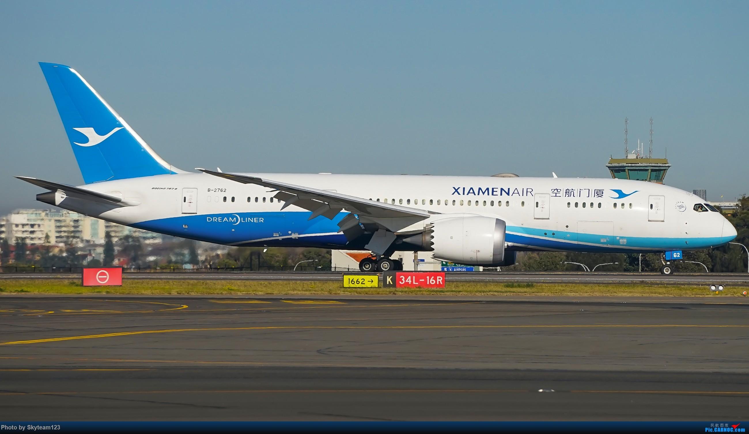 Re:[原创][SYD] 再访Blu EMU停车场 早上34L抵港出发杂图几张 BOEING 787-8 B-2762 澳大利亚悉尼金斯福德·史密斯机场