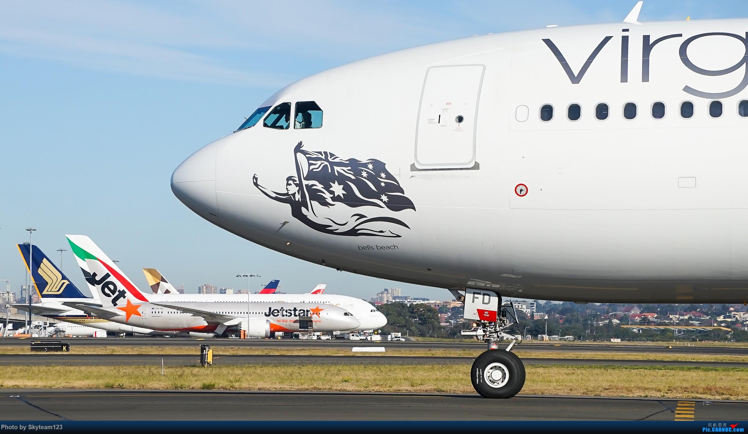 Re:[原创][SYD] 再访Blu EMU停车场 早上34L抵港出发杂图几张 AIRBUS A330-200 VH-XFD 澳大利亚悉尼金斯福德·史密斯机场