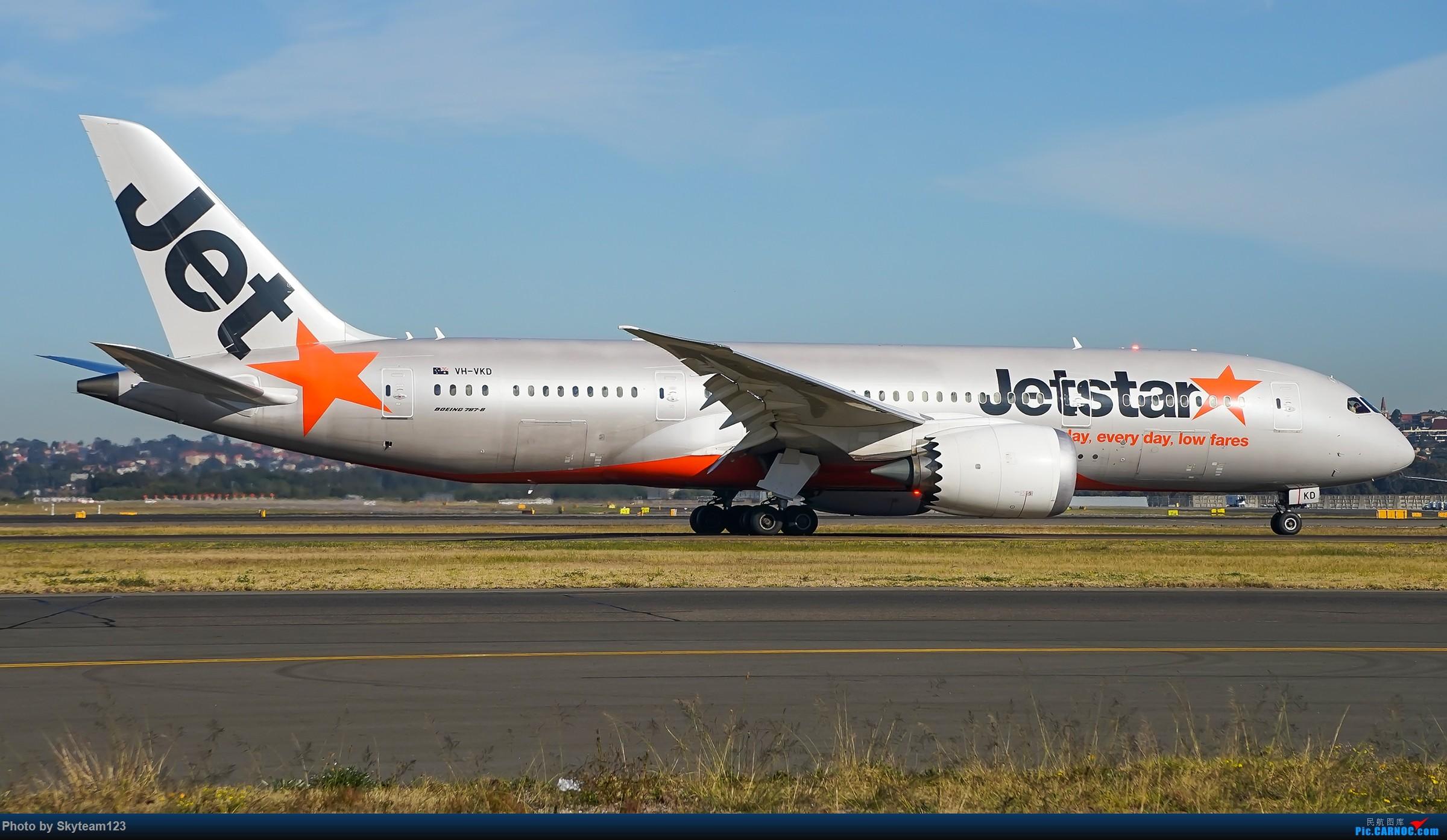 Re:[原创][SYD] 再访Blu EMU停车场 早上34L抵港出发杂图几张 BOEING 787-8 VH-VKD 澳大利亚悉尼金斯福德·史密斯机场