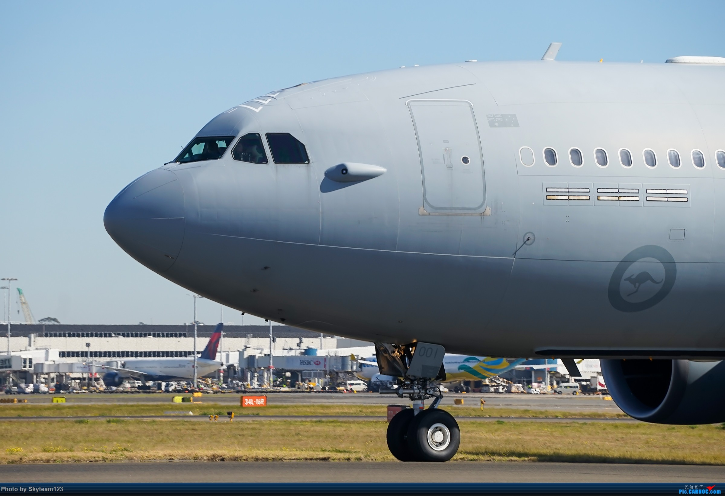 Re:[原创][SYD] 再访Blu EMU停车场 早上34L抵港出发杂图几张 AIRBUS A330 MRTT 未知 澳大利亚悉尼金斯福德·史密斯机场