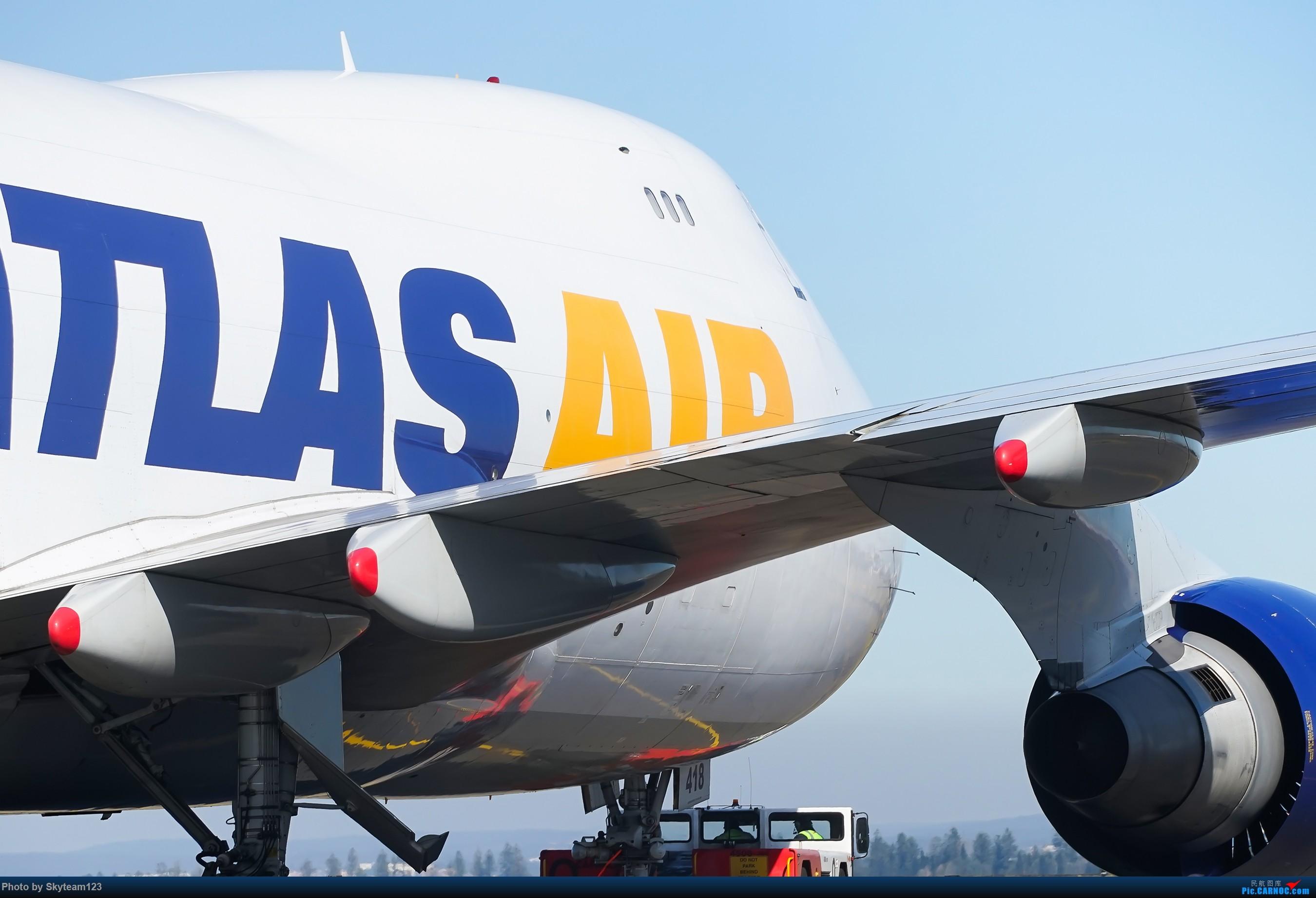 Re:[原创][SYD] 再访Blu EMU停车场 早上34L抵港出发杂图几张 BOEING 747-400F N418MC 澳大利亚悉尼金斯福德·史密斯机场