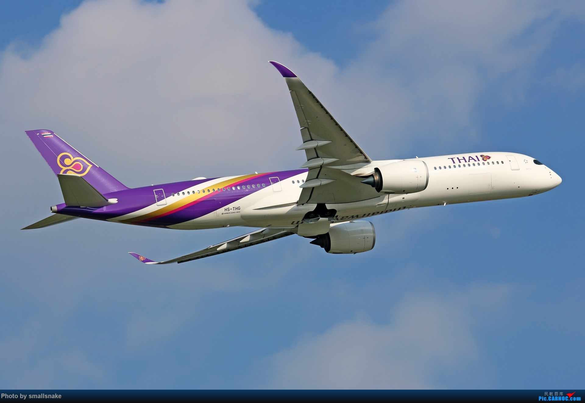 Re:CAN,遇见泰美丽... AIRBUS A350-900 HS-THG 广州白云国际机场