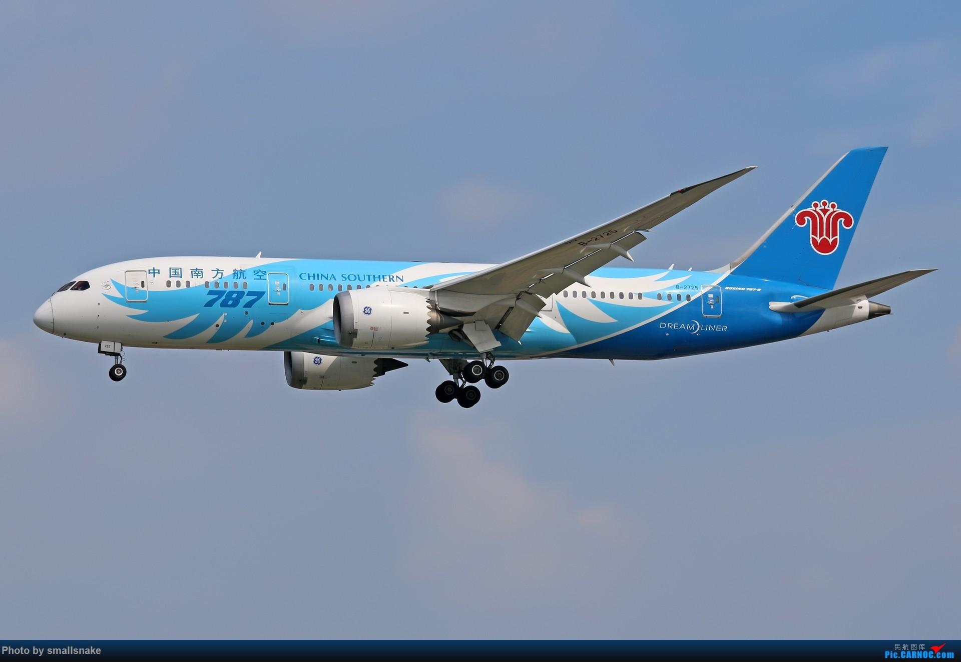 Re:CAN,遇见泰美丽... BOEING 787-8 B-2725 广州白云国际机场