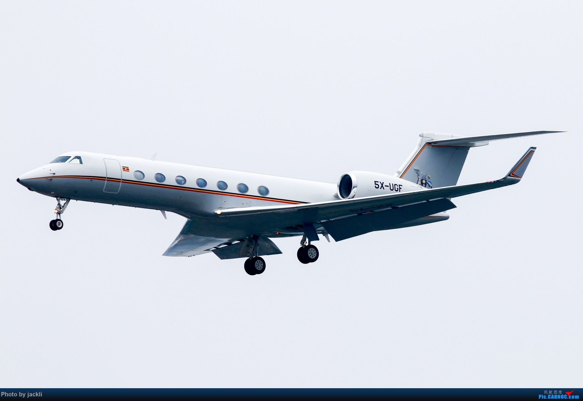 Re:[原创]【JackLi拍机+游记】北京首都机场拍机+参观民航博物馆+首次体验国航A350~ GULFSTREAM AEROSPACE G-V-SP GULFSTREAM G550 5X-UGF 中国北京首都国际机场