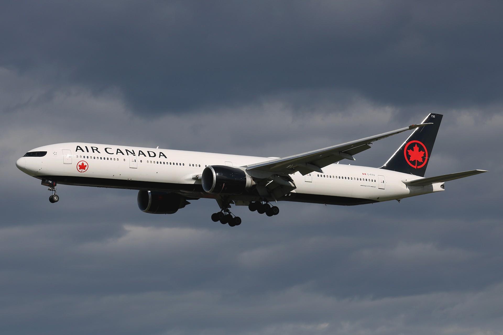 Re:[原创]LIULIU|【PEK 01】|好看的云Ⅲ|下午的那些北美线 BOEING 777-333ER C-FITU 中国北京首都国际机场