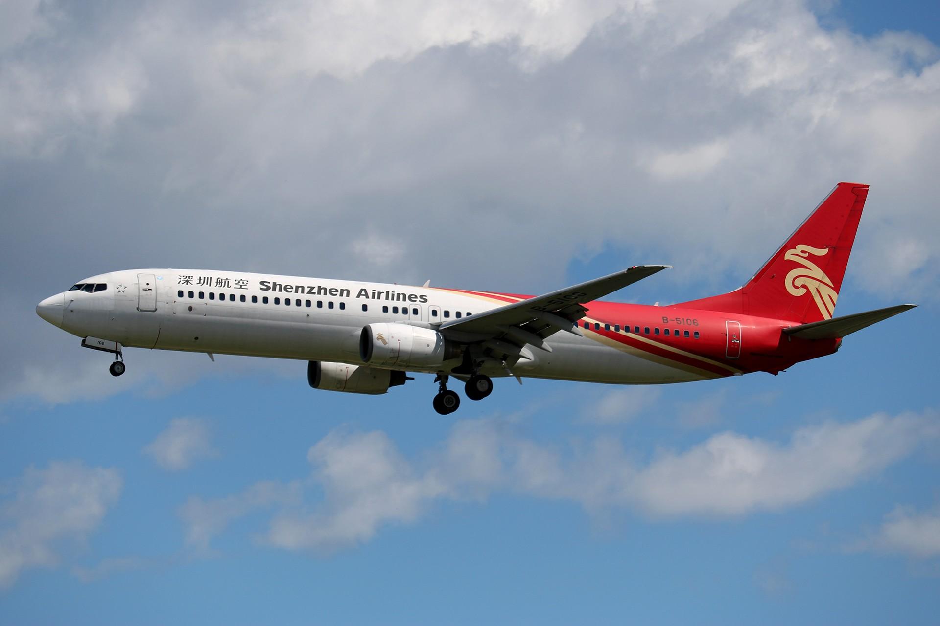 [原创]LIULIU 【PEK 01】 好看的云Ⅳ 杂,很杂,是真的杂 BOEING 737-900 B-5106 中国北京首都国际机场
