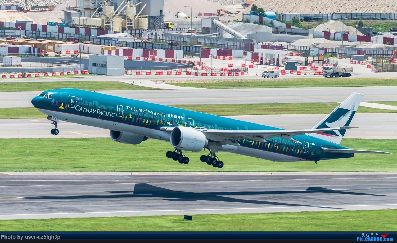 """[原创]""""香港精神号""""一组 BOEING 777-300ER B-KPB 香港赤鱲角国际机场"""