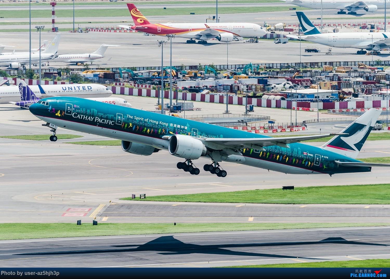 "Re:[原创]""香港精神号""一组 BOEING 777-300ER B-KPB 香港赤鱲角国际机场"