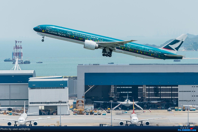 "Re:""香港精神号""一组 BOEING 777-300ER B-KPB 香港赤鱲角国际机场"