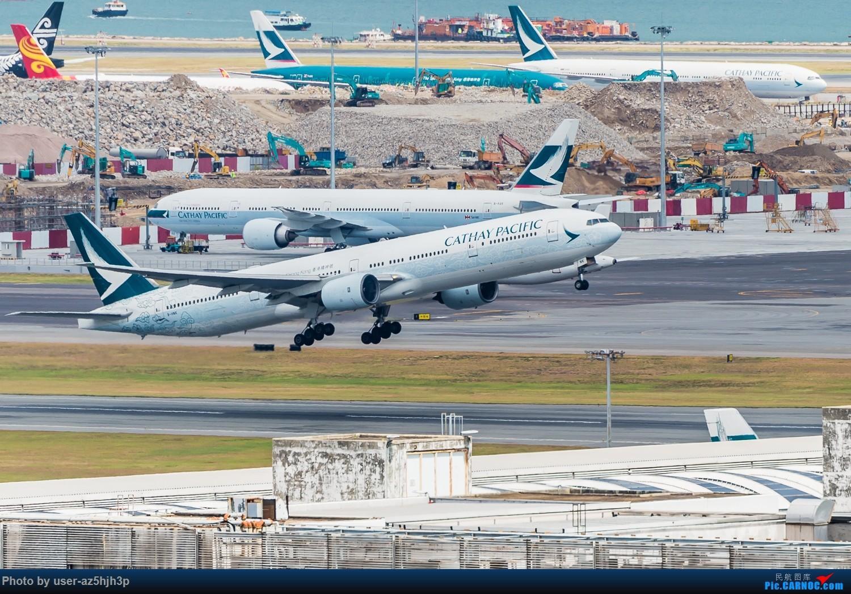 """Re:[原创]""""香港精神号""""一组 BOEING 777-300 B-HNK 香港赤鱲角国际机场"""