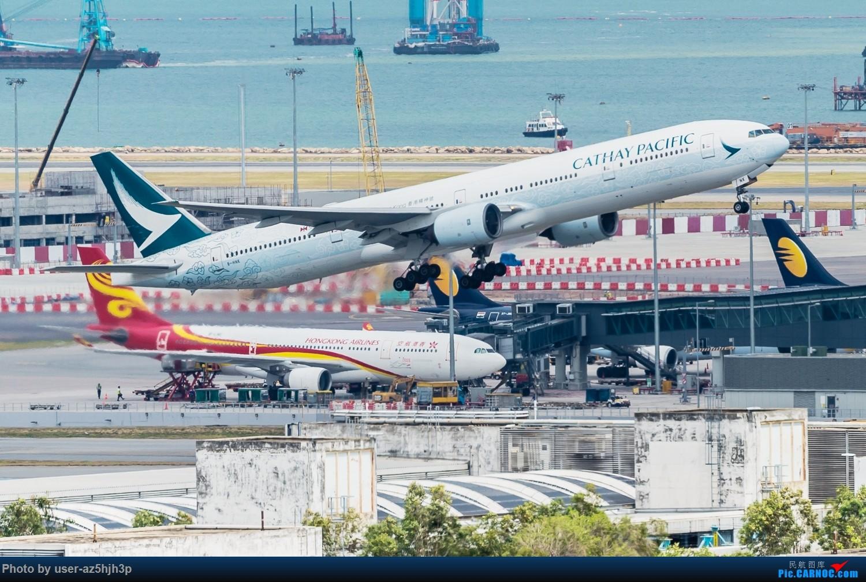 "Re:""香港精神号""一组 BOEING 777-300 B-HNK 香港赤鱲角国际机场"