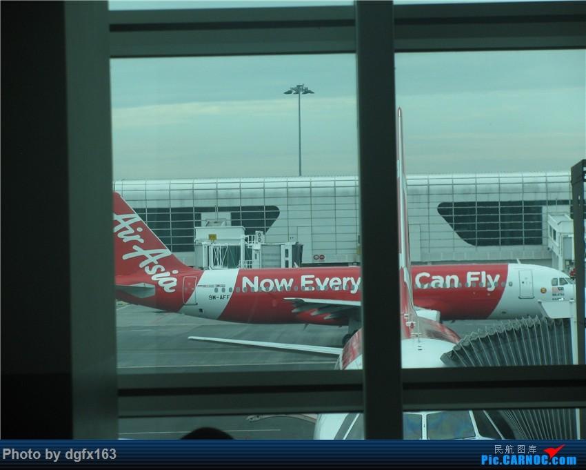 Re:[原创]【dgfx163的游记(27)】亚洲航空 A320-216 AK9753 吉隆坡KUL-斗湖TWU 罕见的东马机场 斗湖机场论坛首发!附卡帕莱美景,印证人间仙境 AIRBUS A320-200 9M-AFF 马来西亚吉隆坡国际机场