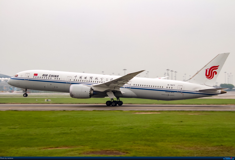 [原创]吹飞一组 BOEING 787-9 B-7877 中国广州白云国际机场