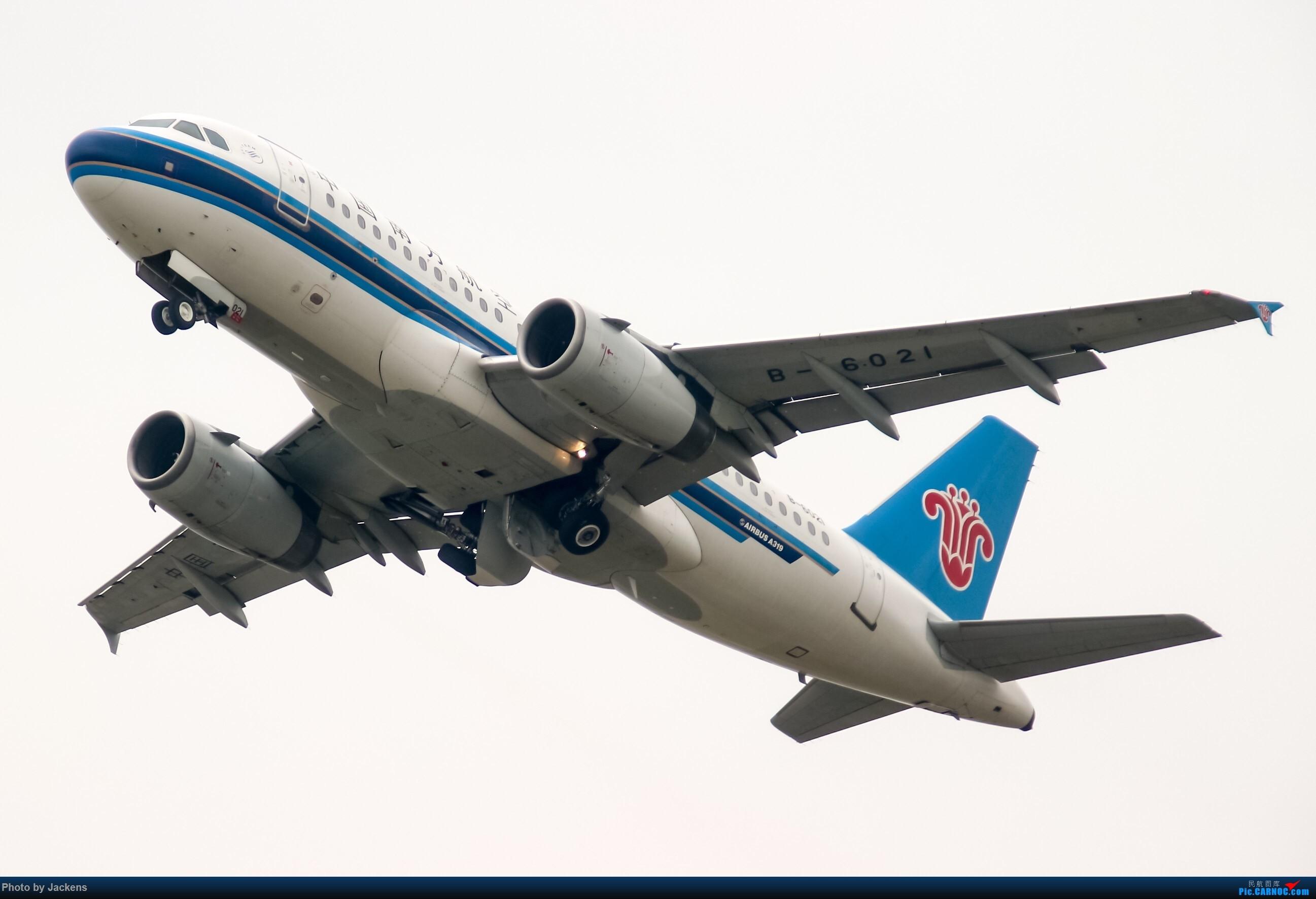 Re:[原创]吹飞一组 AIRBUS A319-100 B-6021 中国广州白云国际机场
